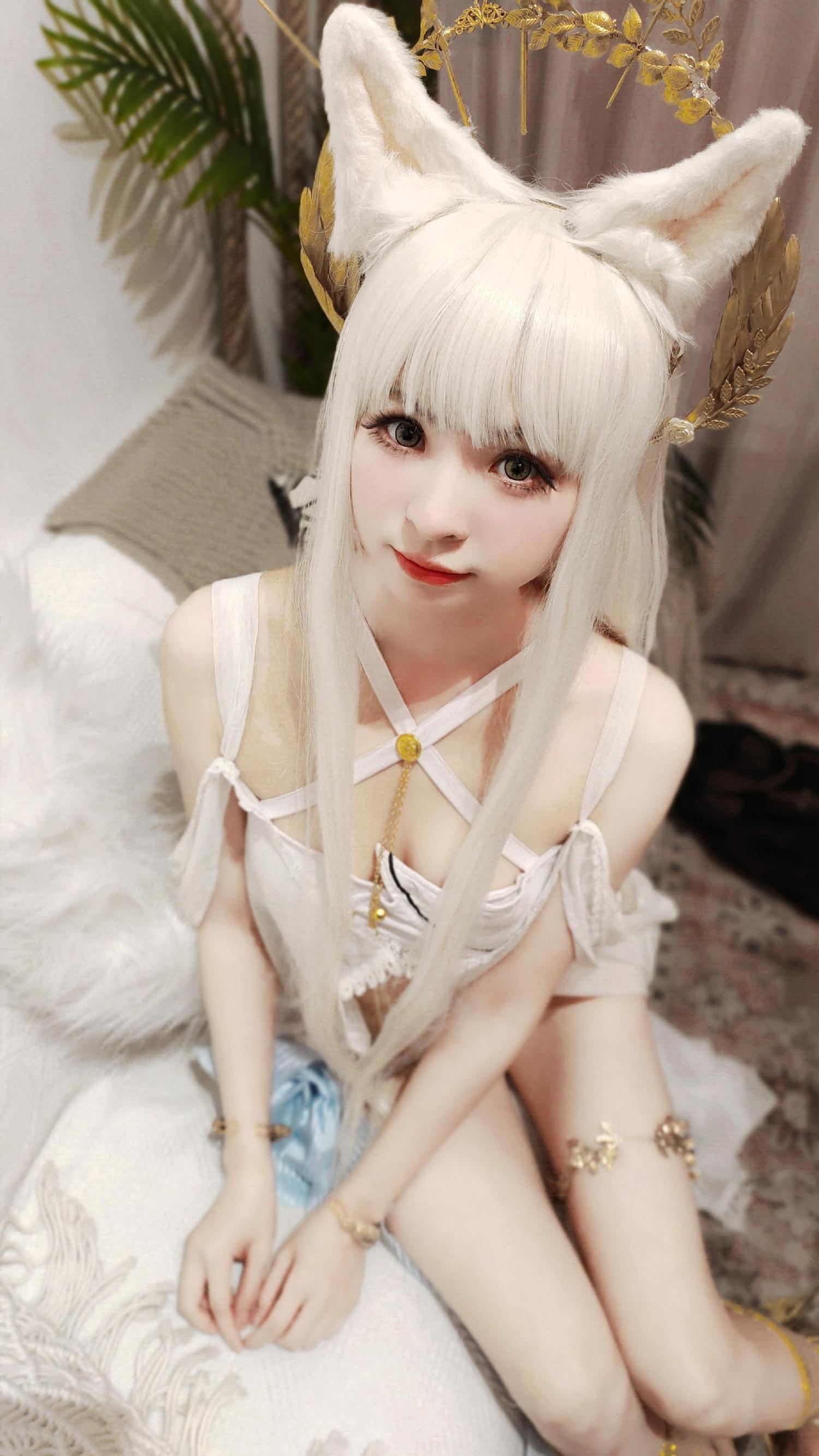 《明日方舟》明日方舟白金cosplay【CN:红叶之祭礼】 -王昭君cosplay图片王者插图