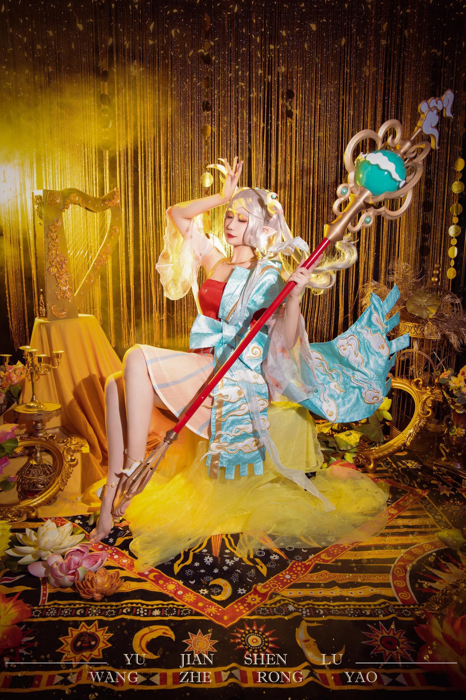 《王者荣耀》正片cosplay【CN:陌蝶er】-第9张