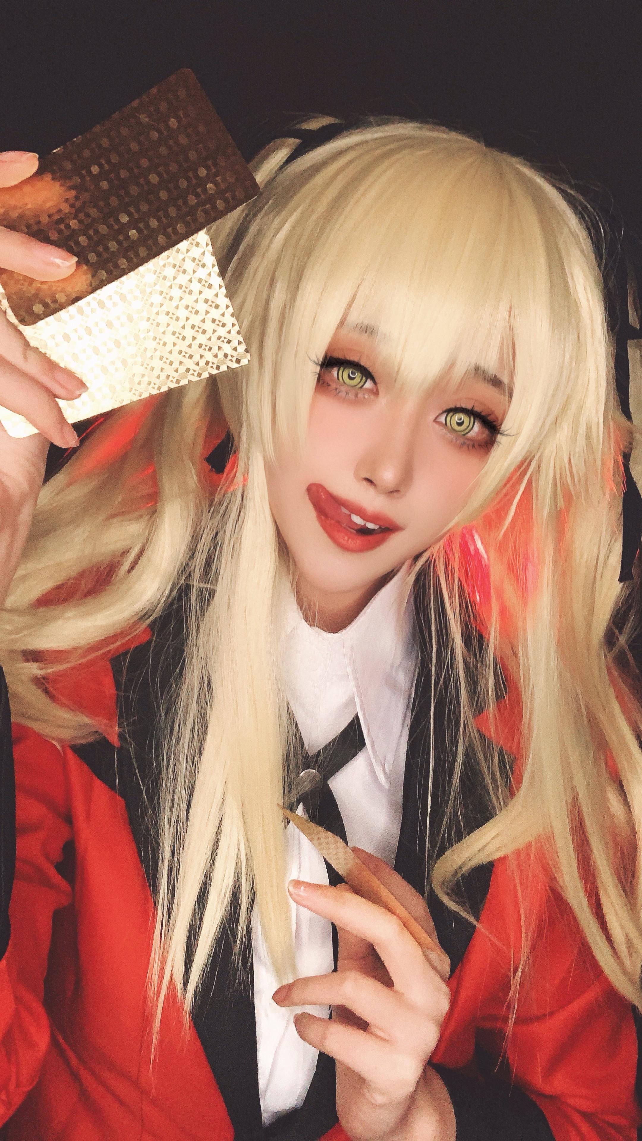 《狂赌之渊》早乙女cosplay【CN:w面包w】-第1张