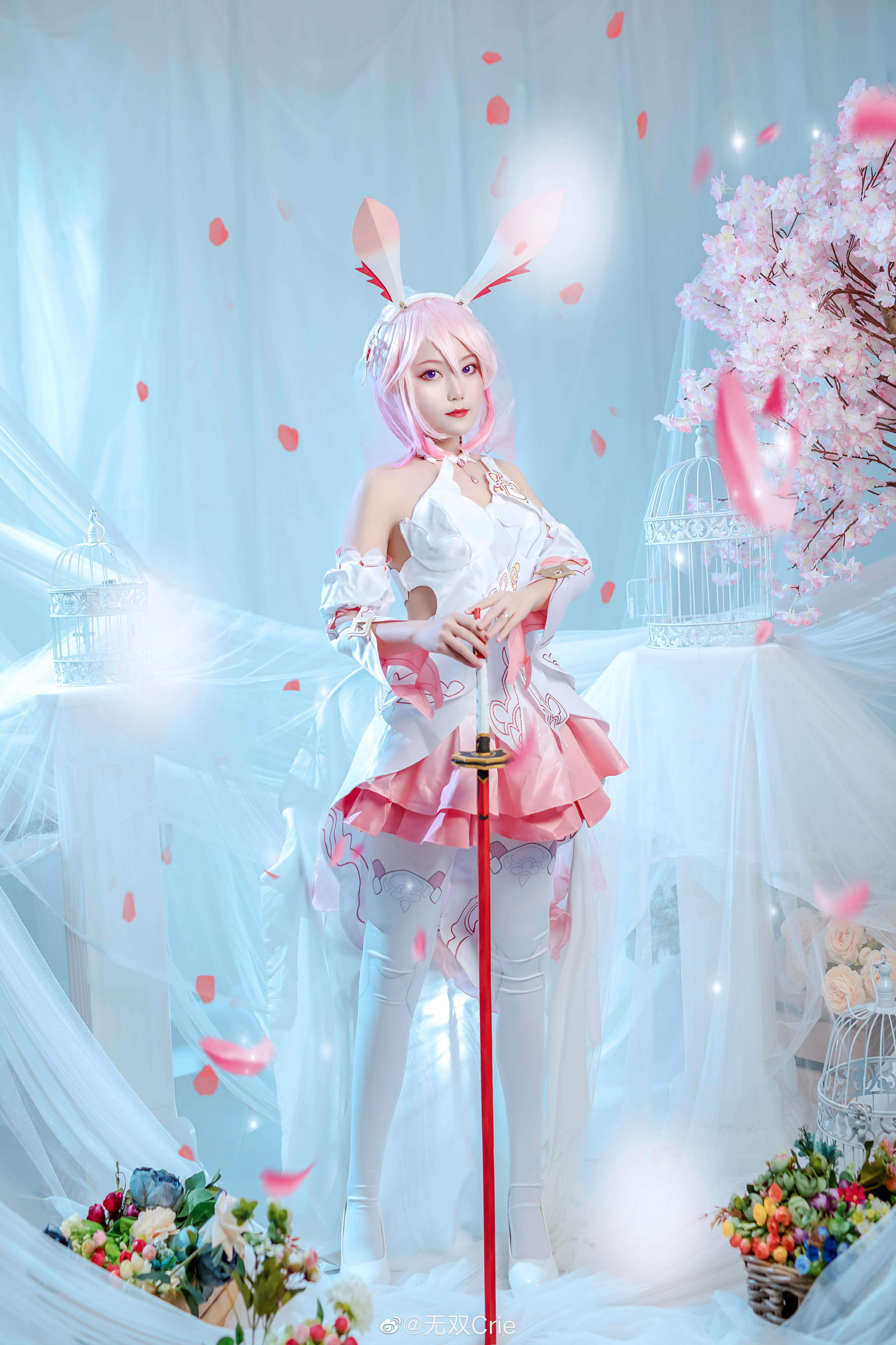 《八重樱》正片cosplay【CN:韩玖白】-第2张