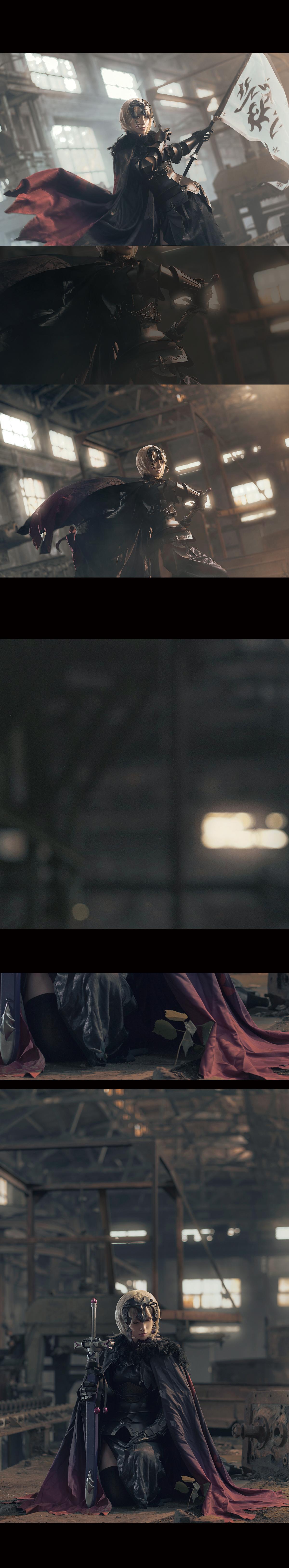 《FATE/GRAND ORDER》贞德cosplay【CN:千里看着你的脑洞说】-第8张