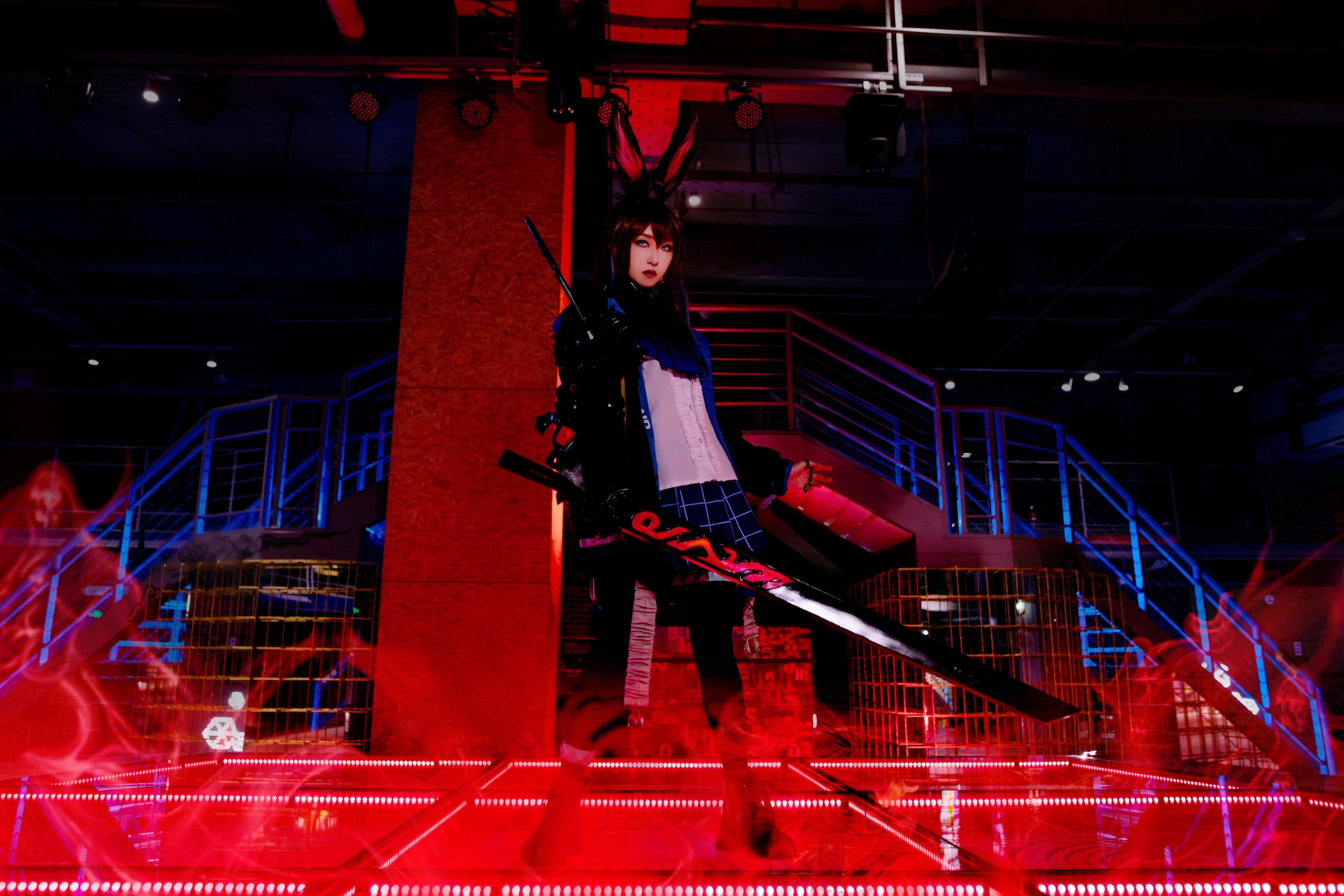 《明日方舟》正片cosplay【CN:YINGO殷果】-第5张