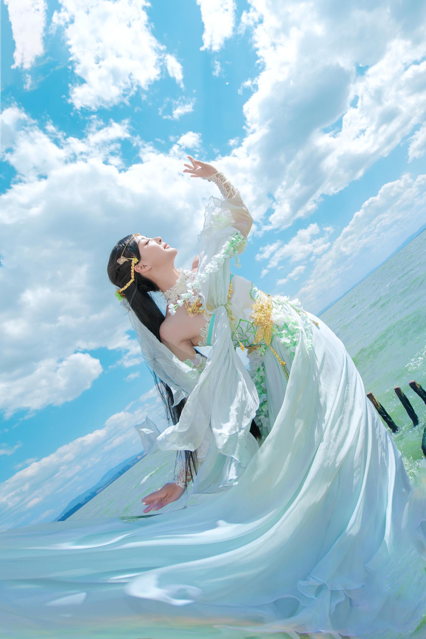 《天涯明月刀OL》古风cosplay【CN:瑶音音】-第1张