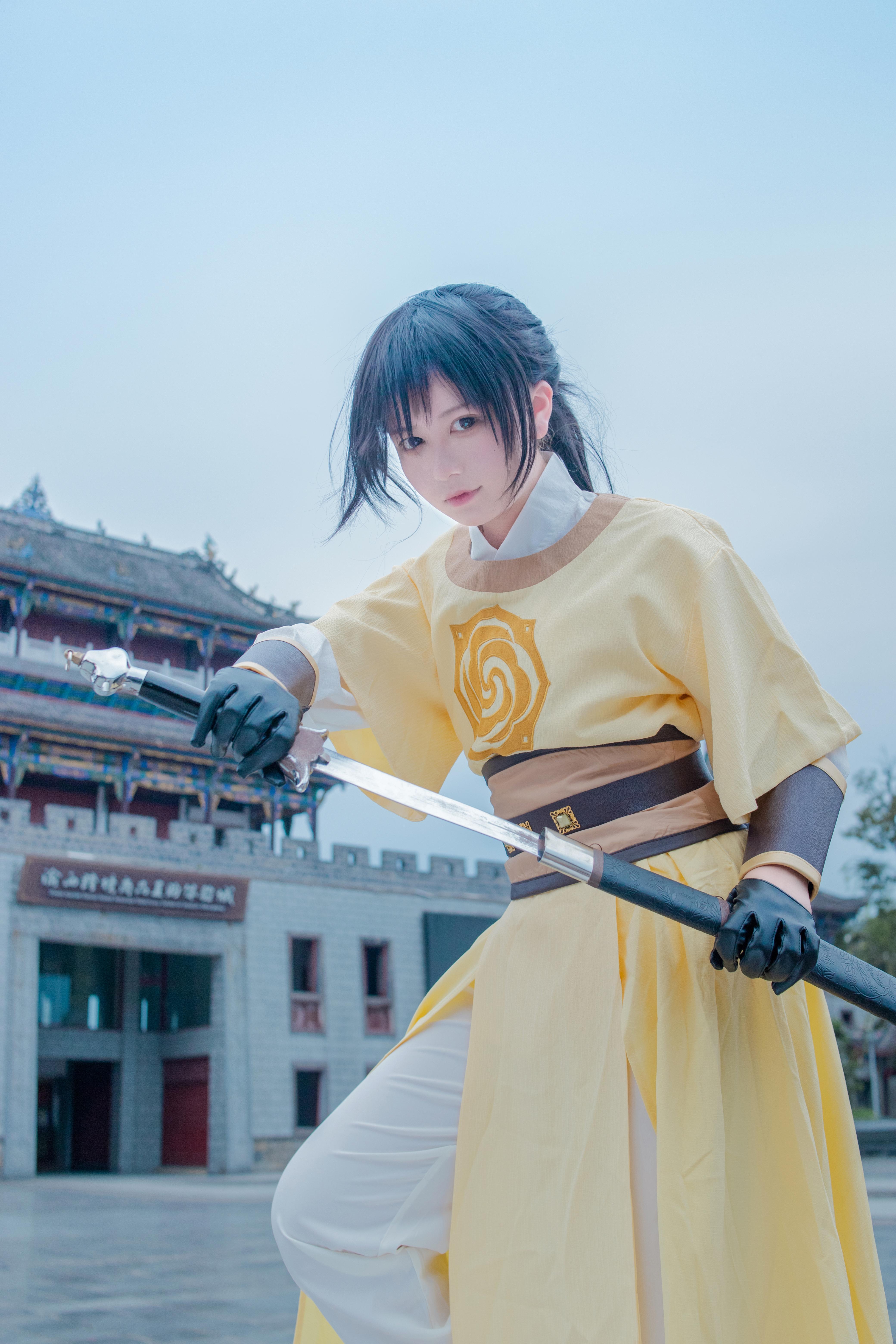 《魔道祖师》薛洋cosplay【CN:百里云溪】-第9张