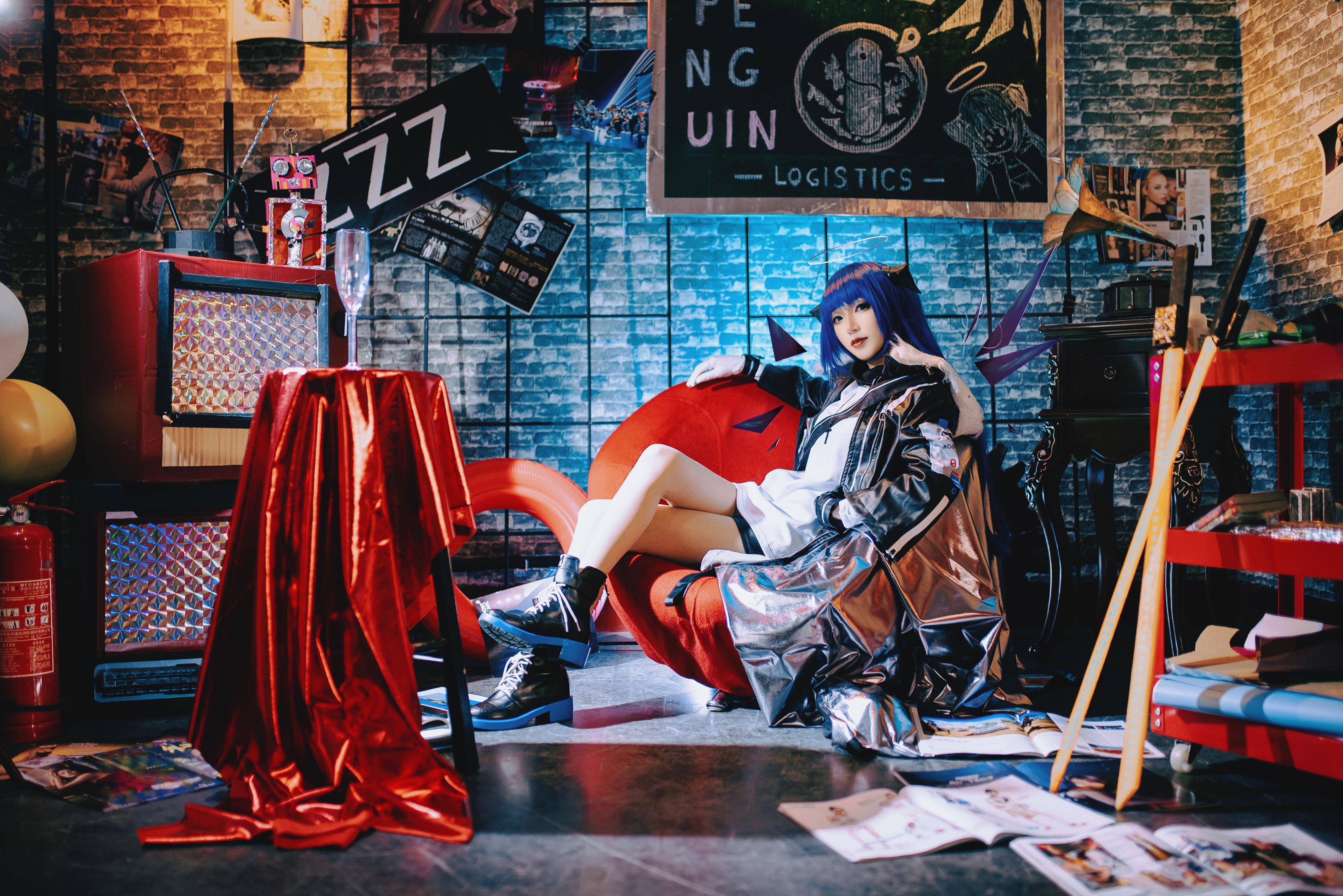 《明日方舟》正片cosplay【CN:鲁丝兔】-第7张