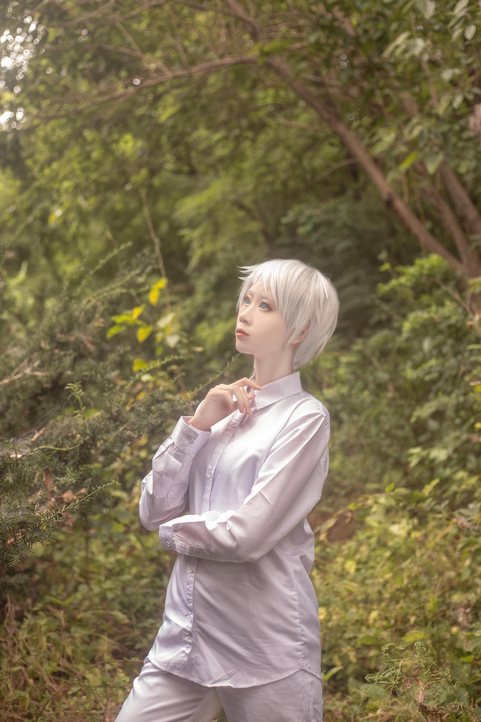 《约定的梦幻岛》正片cosplay【CN:萧萧萧萧萧何】-第9张