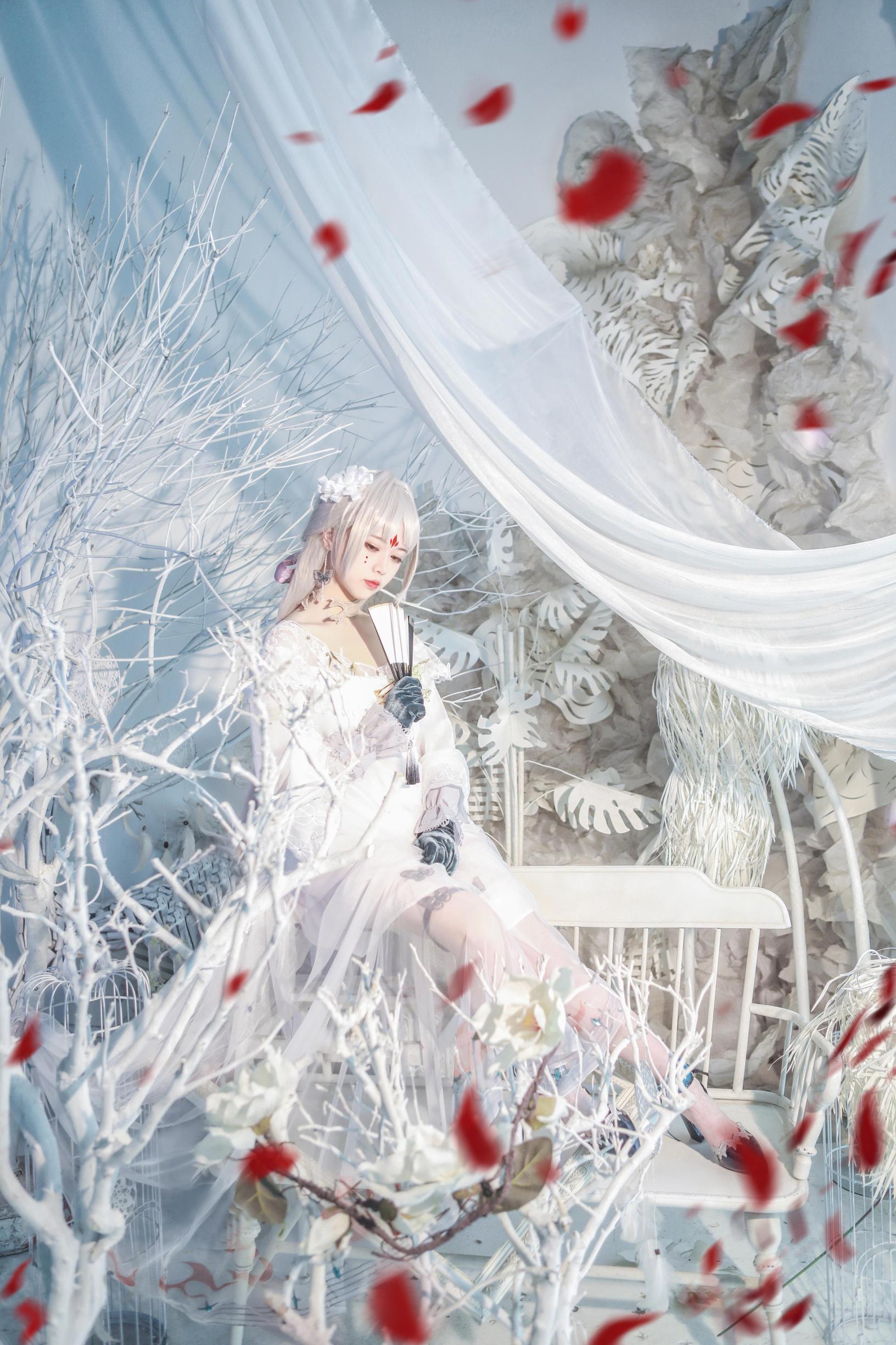 《阴阳师手游》正片cosplay【CN:桃溪不爱喵】-第6张