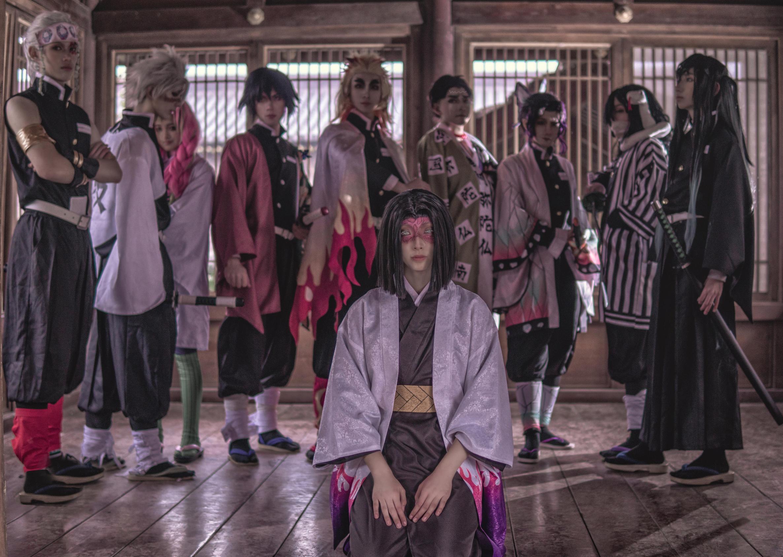《鬼灭之刃》鬼杀队cosplay【CN:亦白Aluka】-第6张