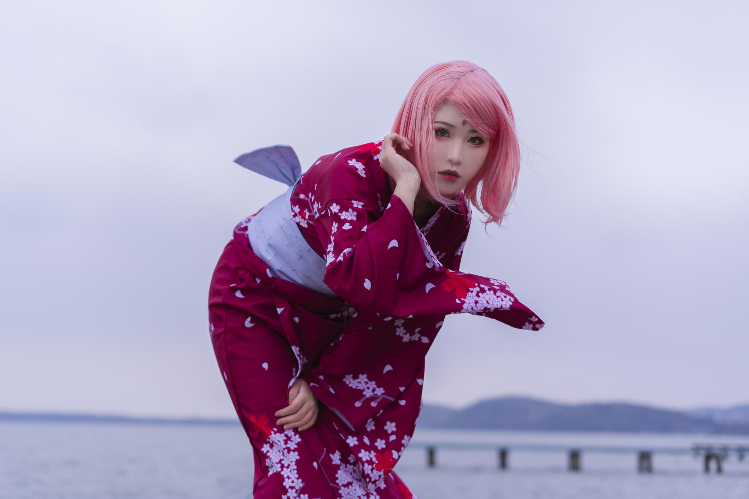 《火影忍者》火影忍者春野樱cosplay【CN:Naraku阿峰】-第11张