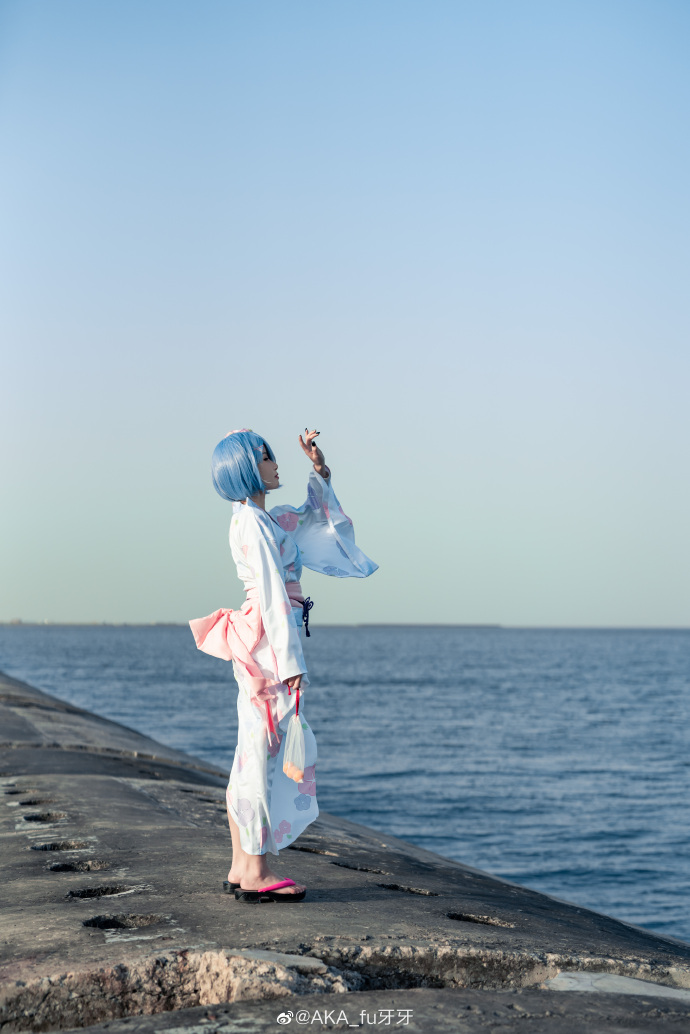 Re:从零开始的异世界生活   蕾姆  浴衣   @AKA_fu牙牙 (9P)-第3张