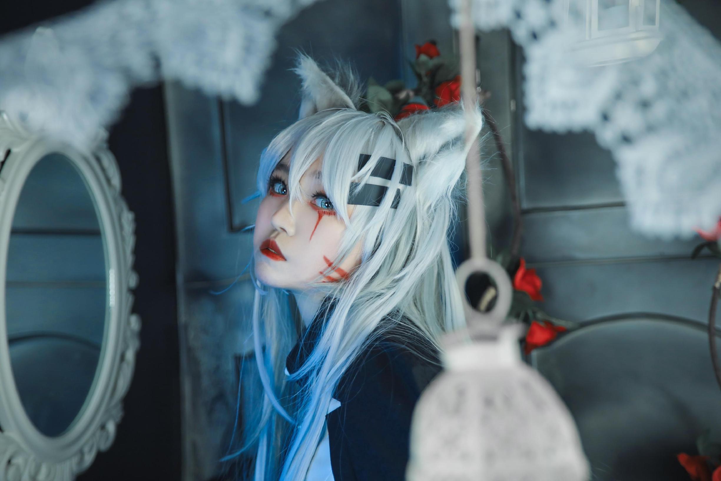 《明日方舟》正片cosplay【CN:Enki.lily.凛离】-第10张
