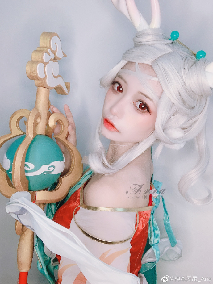 [COS]王者荣耀   瑶·遇见神鹿   @神本无尾_Aria (9P) -cosplay18图片插图