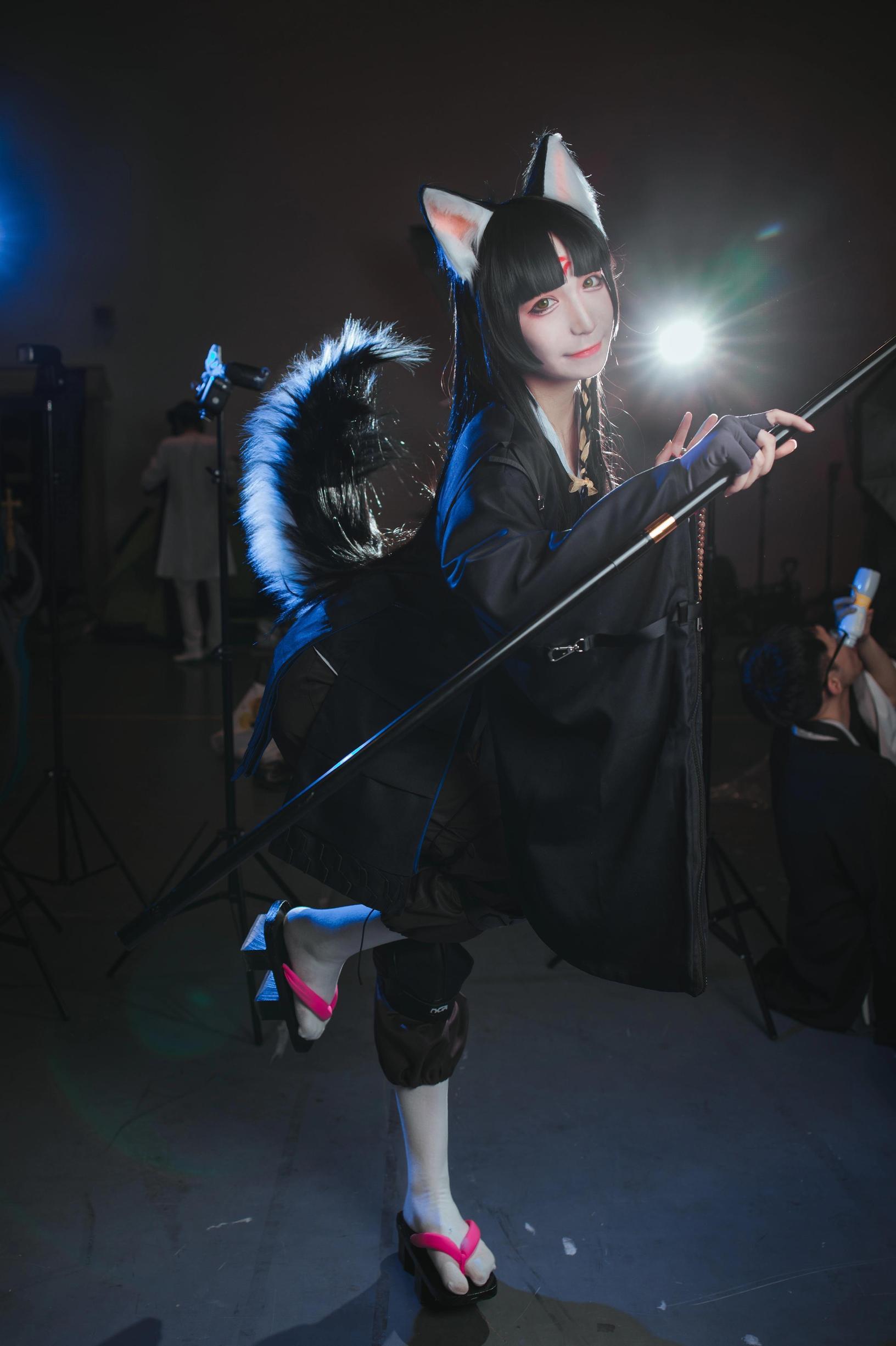 《明日方舟》漫展cosplay【CN:COSER赤瞳_菌】-第7张