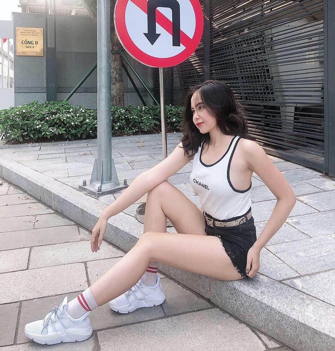 20岁越南妹子美胸丰臀好招摇,自拍美照吸睛度高超!-第8张