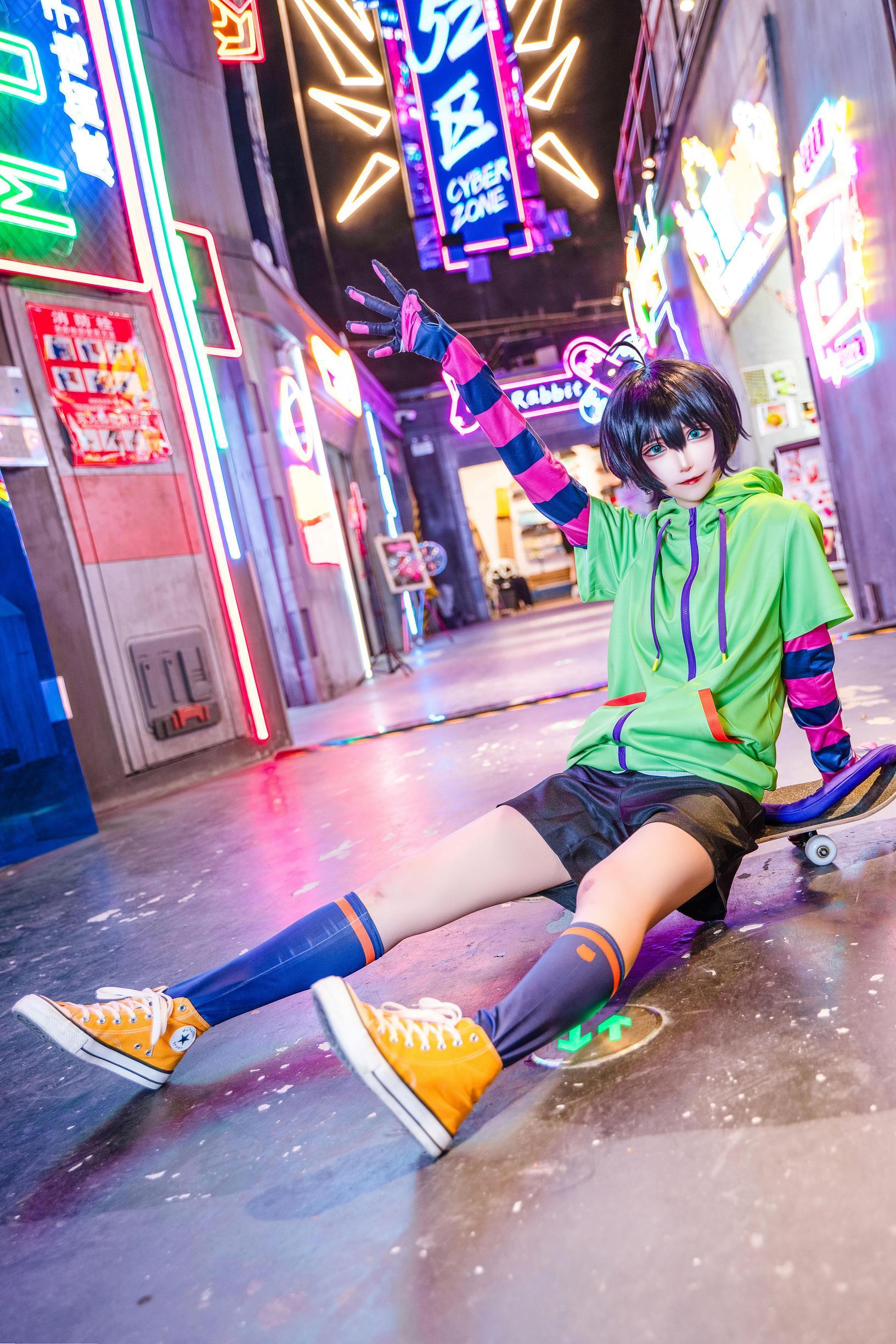 《无限滑板》少年cosplay【CN:南千鲤Akirui】-第3张