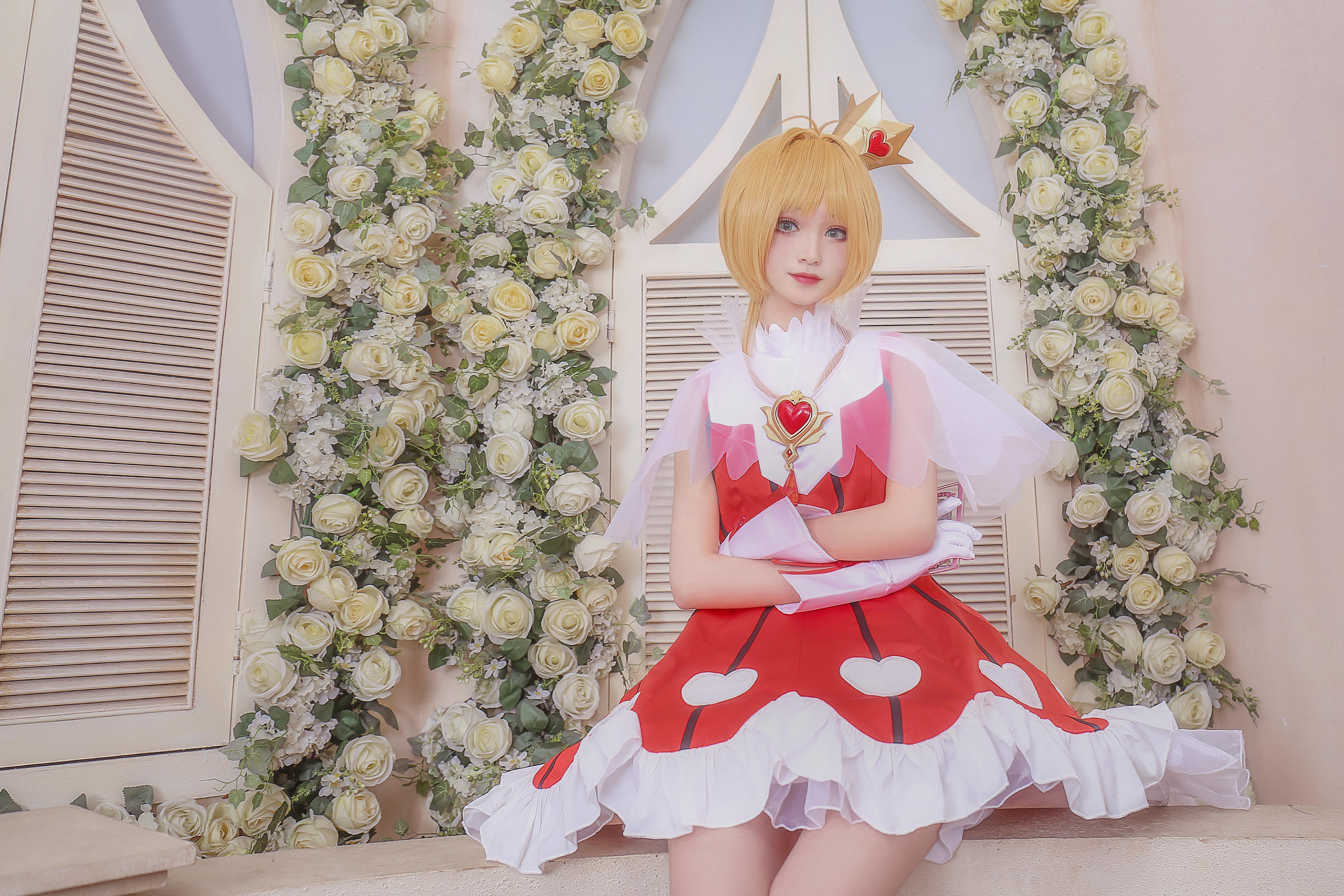 《魔卡少女樱》魔法少女小樱cosplay【CN:柳川萌_moe】-第6张