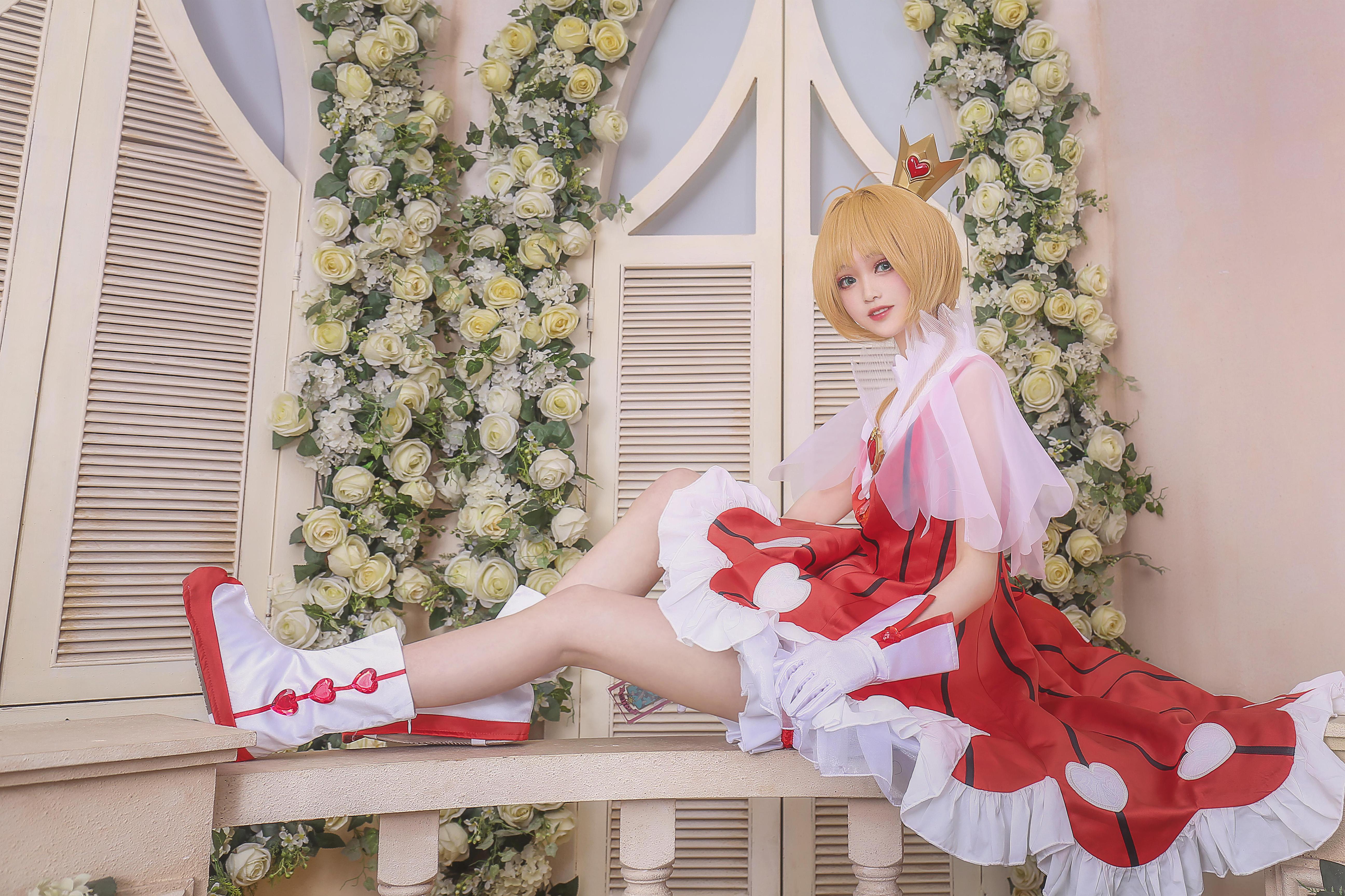 《魔卡少女樱》魔法少女小樱cosplay【CN:柳川萌_moe】-第15张