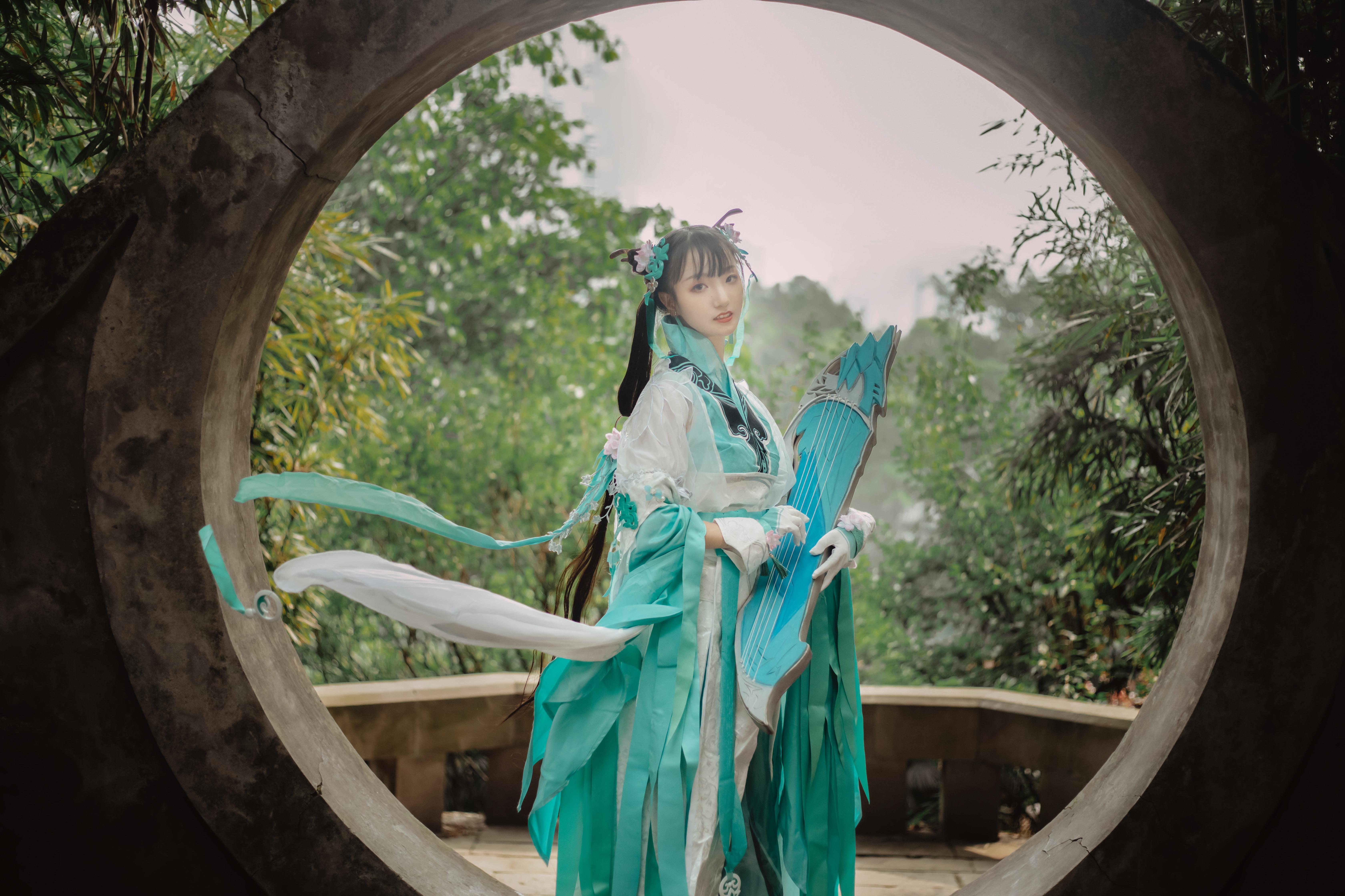 《剑侠情缘网络版叁》剑三cosplay【CN:青锦天下】-第6张