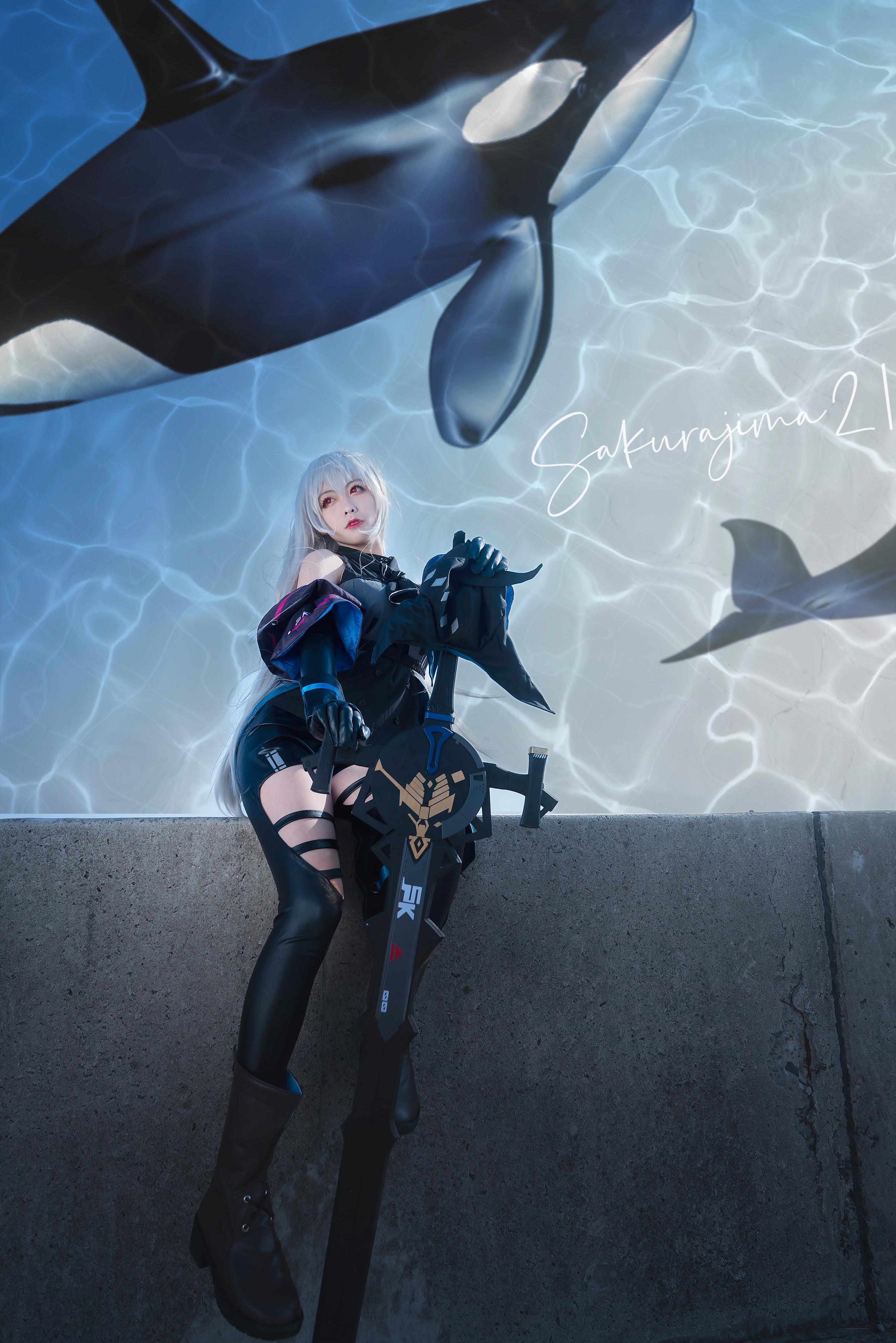 《明日方舟》正片cosplay【CN:樱岛嗷一】-第9张