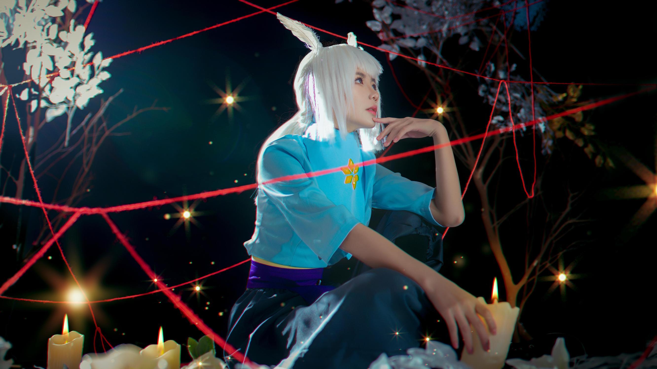 《SKY光遇》正片cosplay【CN:妖染爱吃糖葫芦】-第5张