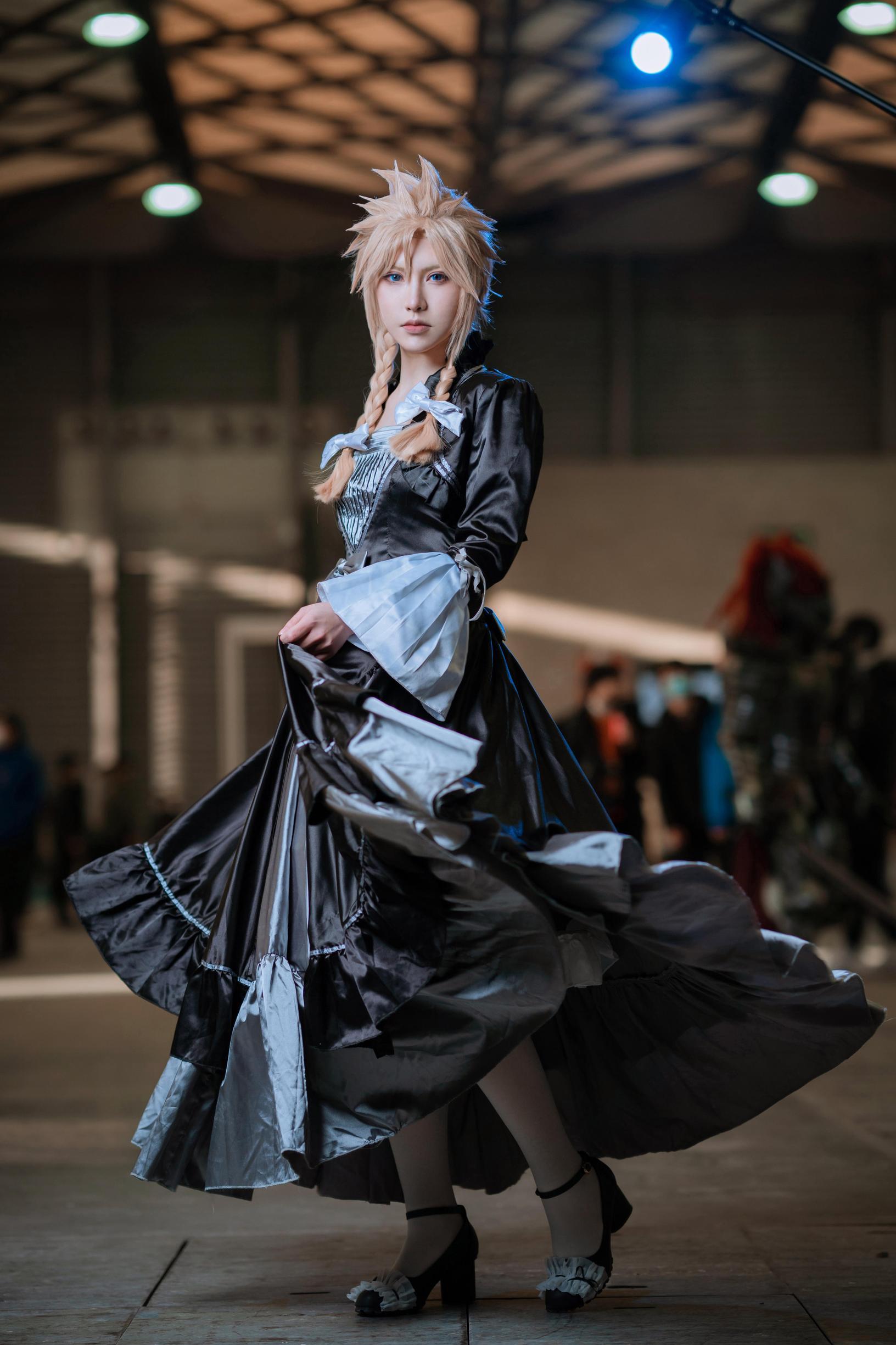 《最终幻想VII》漫展cosplay【CN:_Aoki_】-第2张