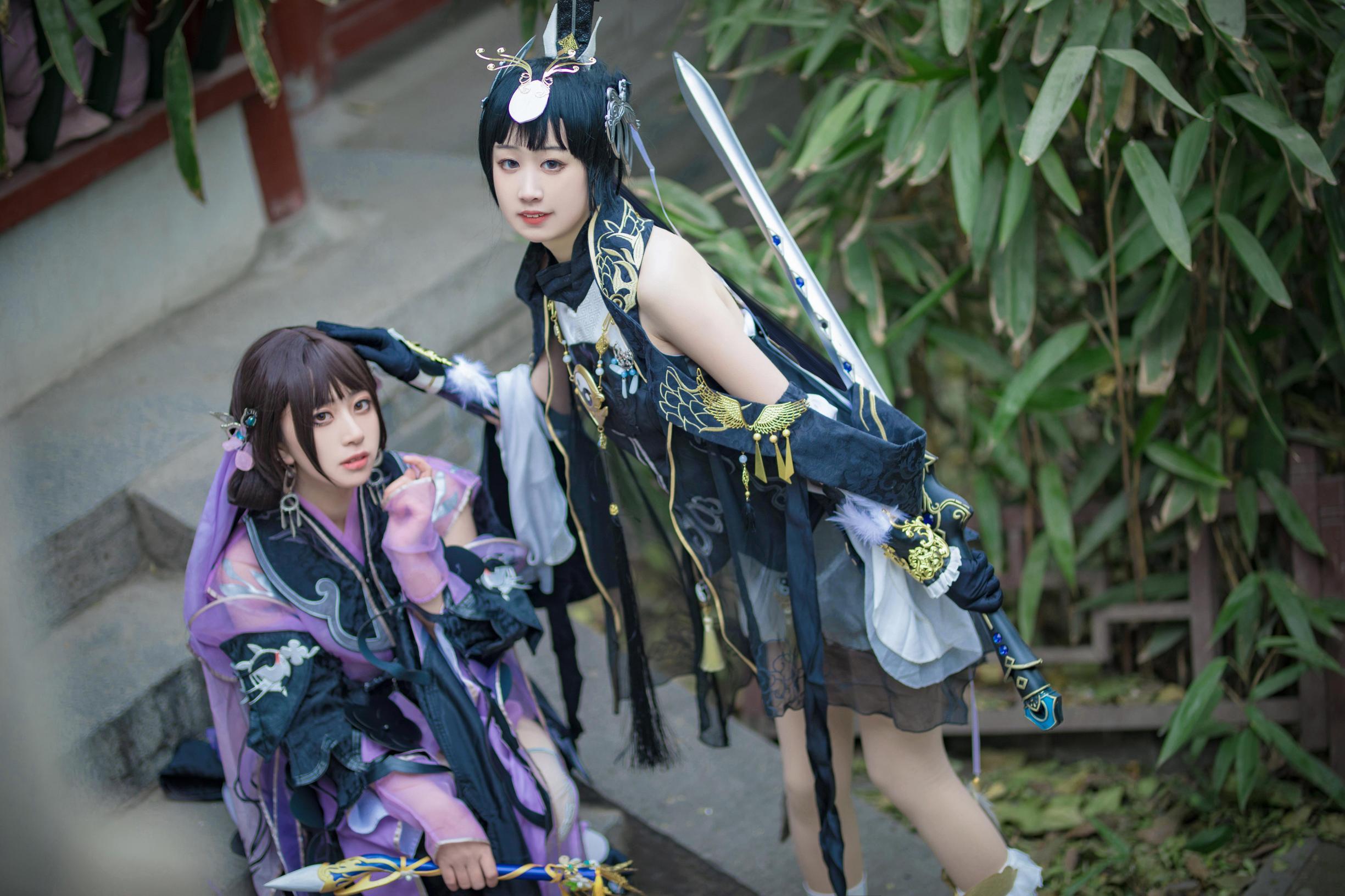 《剑侠情缘网络版叁》剑三cosplay【CN:寄辞于鱼_】-第5张