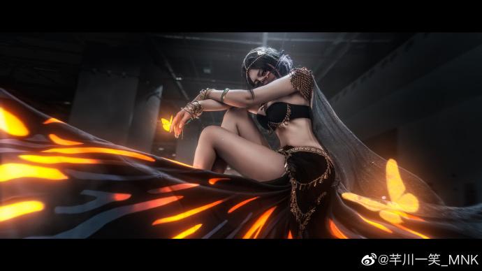 [COS]鬼刀   风玲   @芊川一笑_MNK   (A-cosplay古装制作图片下载3国际动漫游戏展) (9P) –插图
