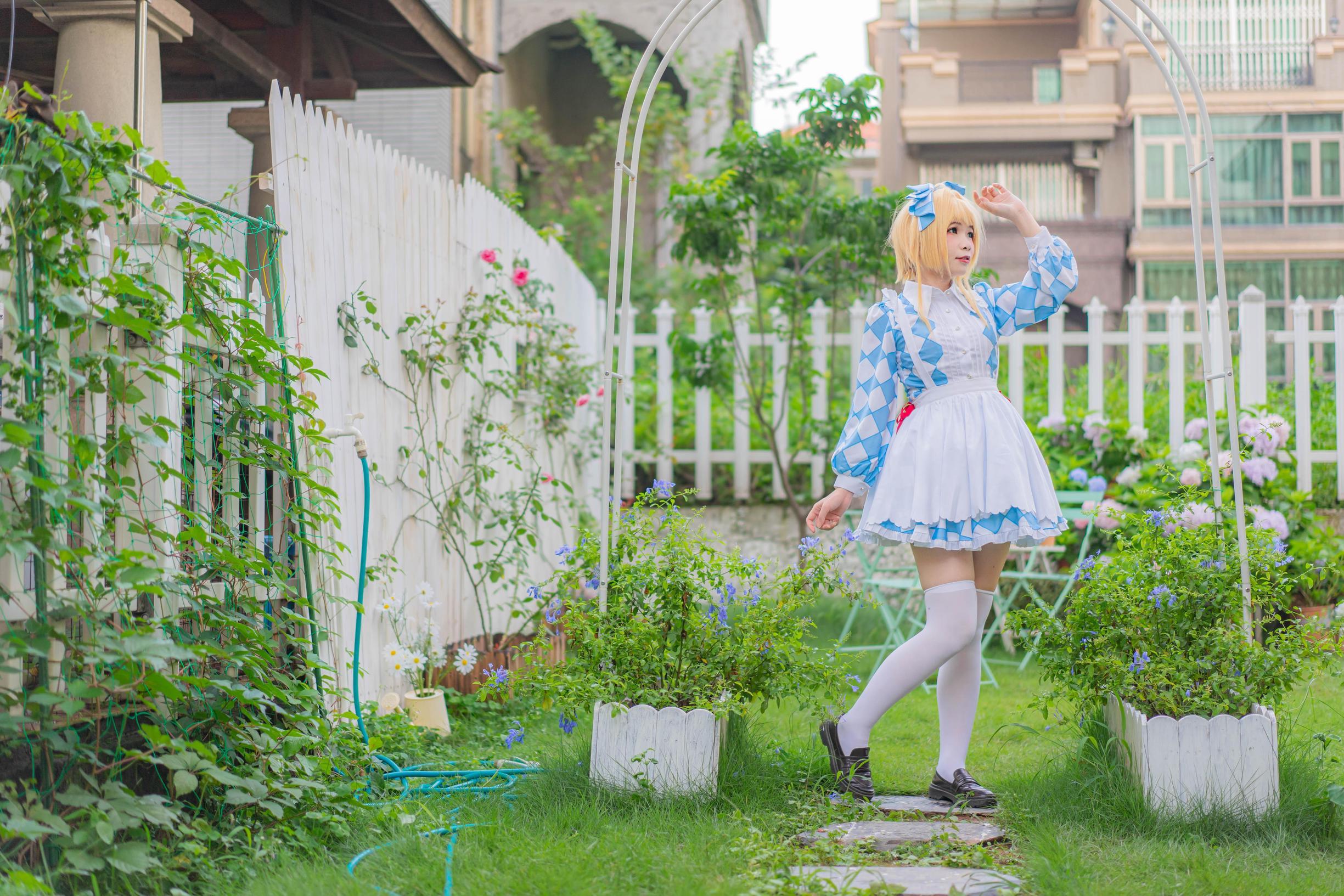 《魔卡少女樱》爱丽丝cosplay【CN:海鲜君】 -孩子cosplaypng图片插图