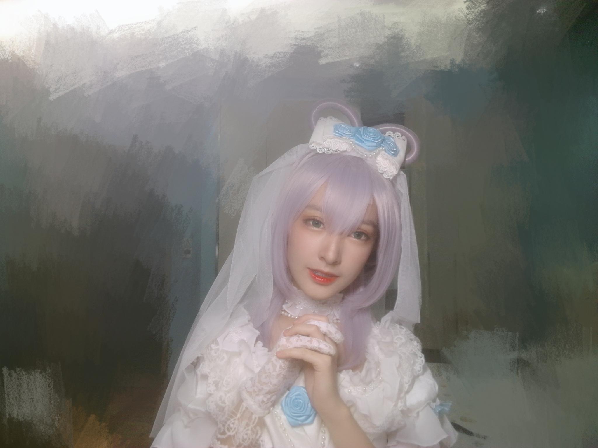 《紫罗兰永恒花园》洛天依cosplay【CN:砂隐的醴蓦】-第9张