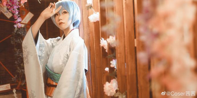 新世纪福音战士   绫波丽   和服   @Coser茜茜 (8P)-第7张