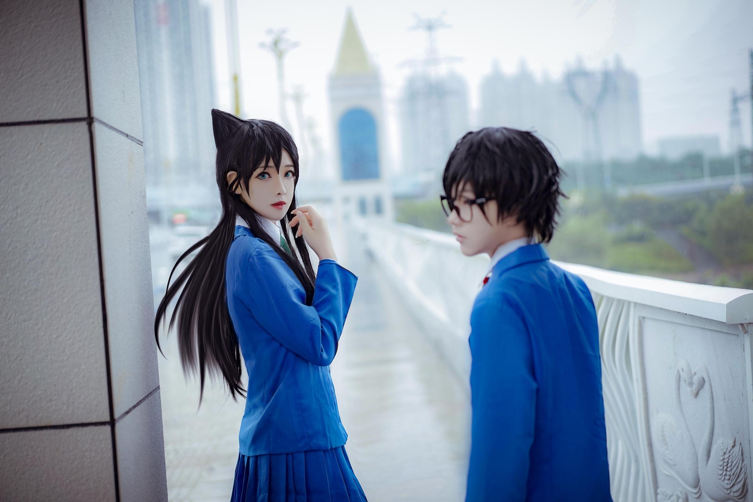 《名侦探柯南》毛利兰cosplay【CN:鬼肆A】-第3张