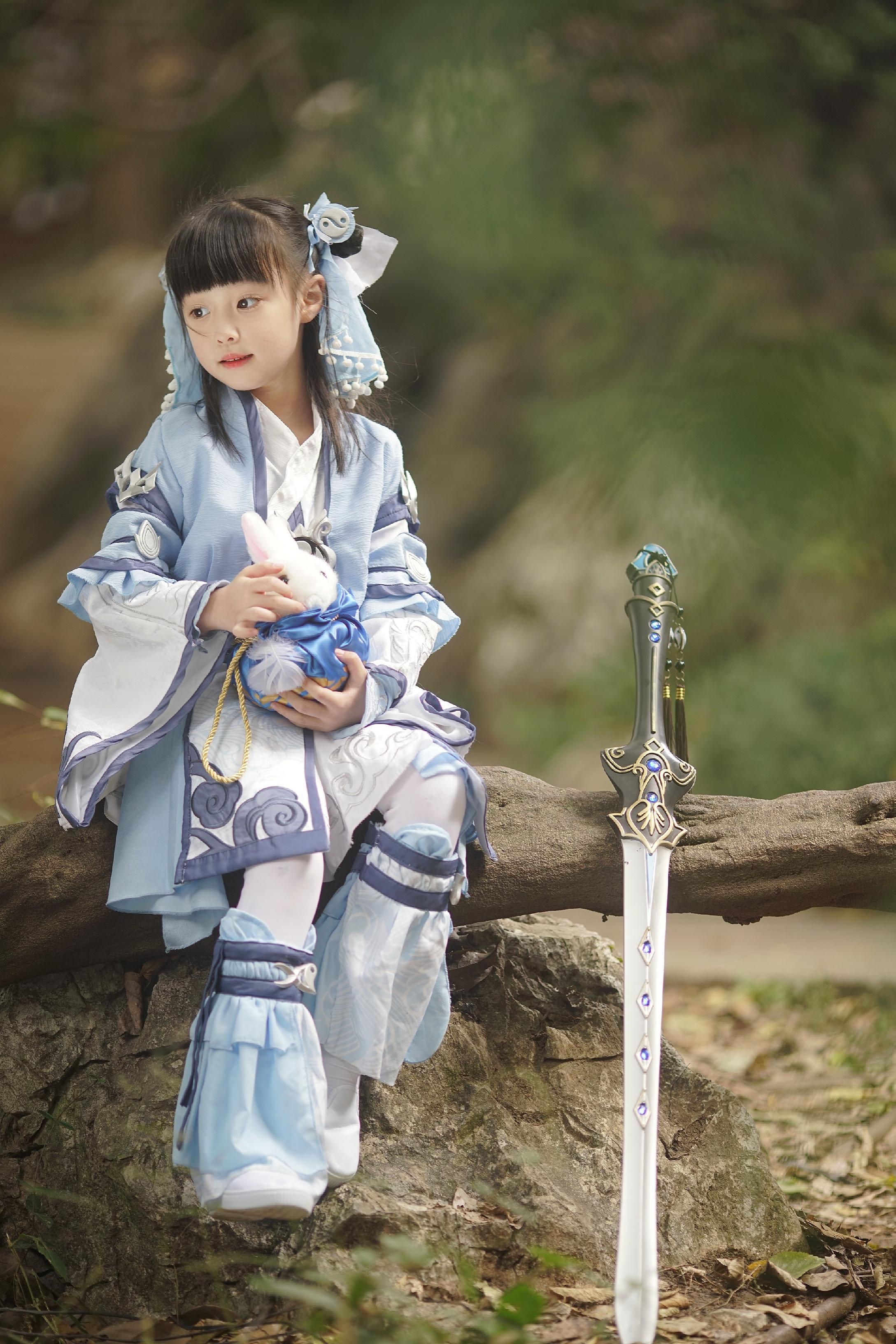《剑侠情缘网络版叁》咩萝cosplay【CN:唐无邪i】-第3张
