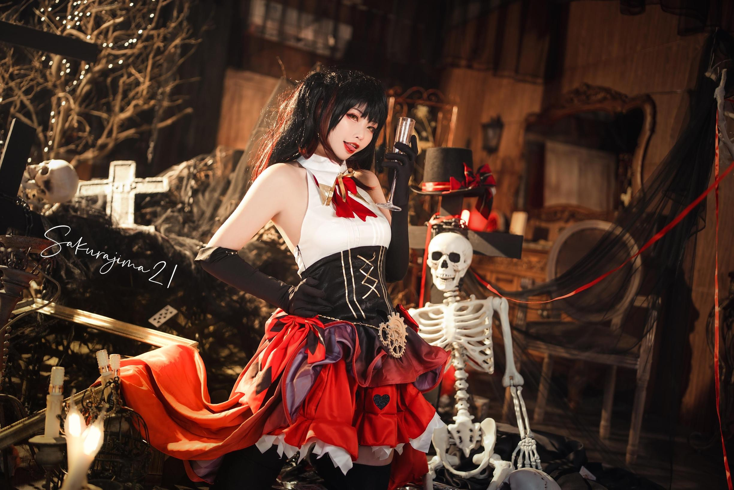 《约会大作战》时崎狂三cosplay【CN:樱岛嗷一】 -cosplay私人订制图片插图