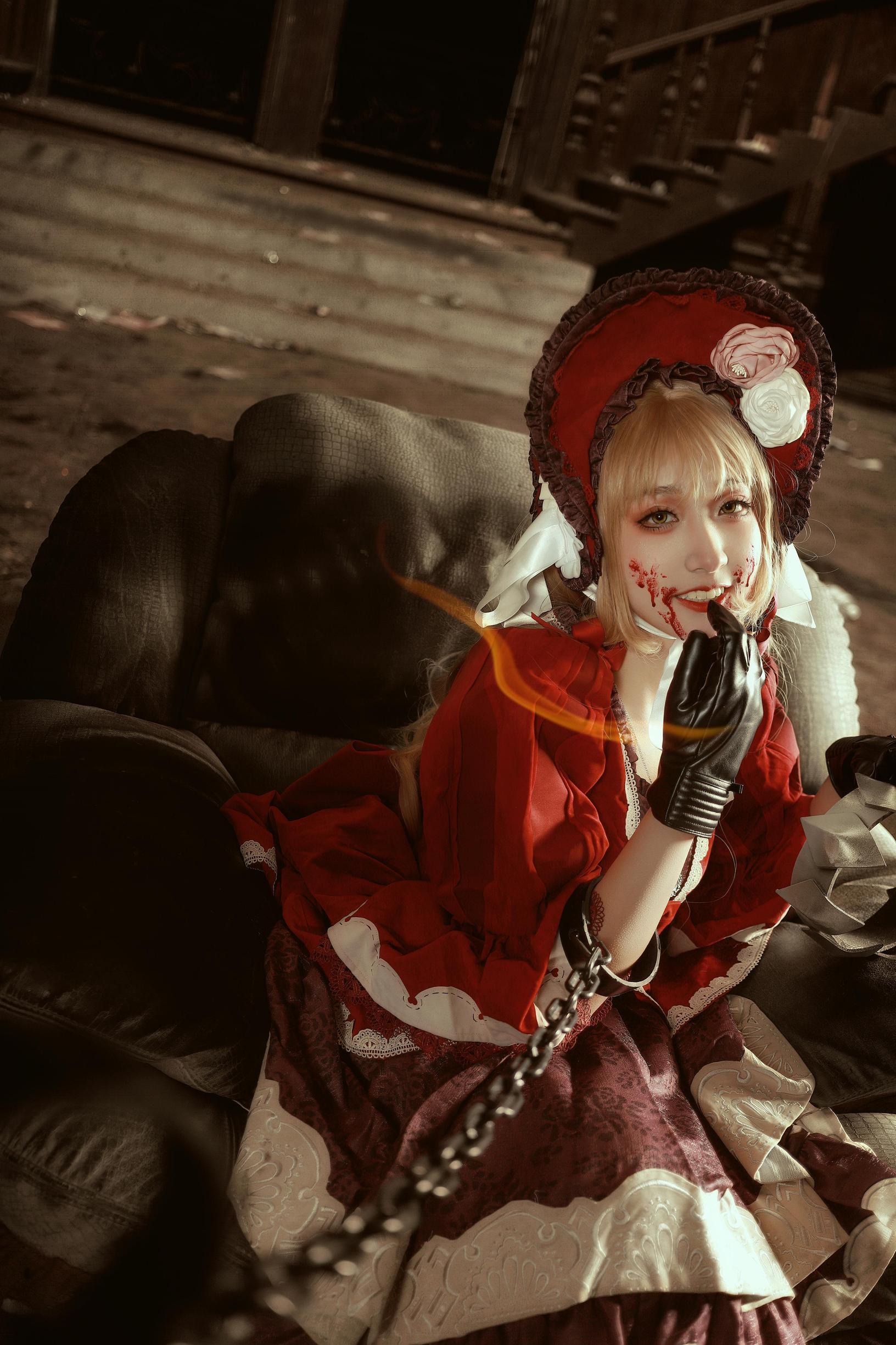 《死亡爱丽丝》游戏cosplay【CN:墓入安泽】-第15张
