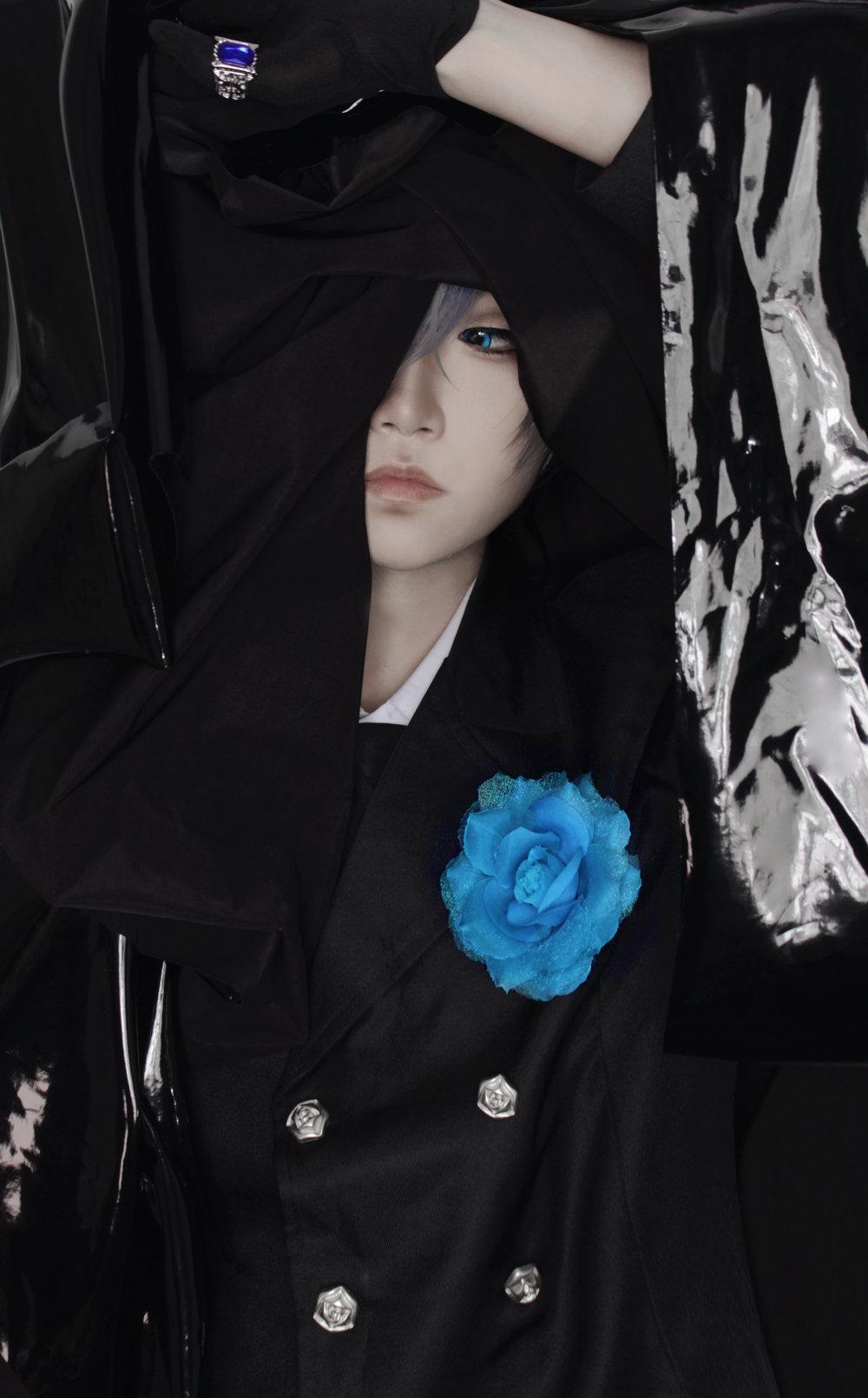 《黑执事》夏尔cosplay【CN:l影择l】 -动漫猫女cosplay图片素材插图