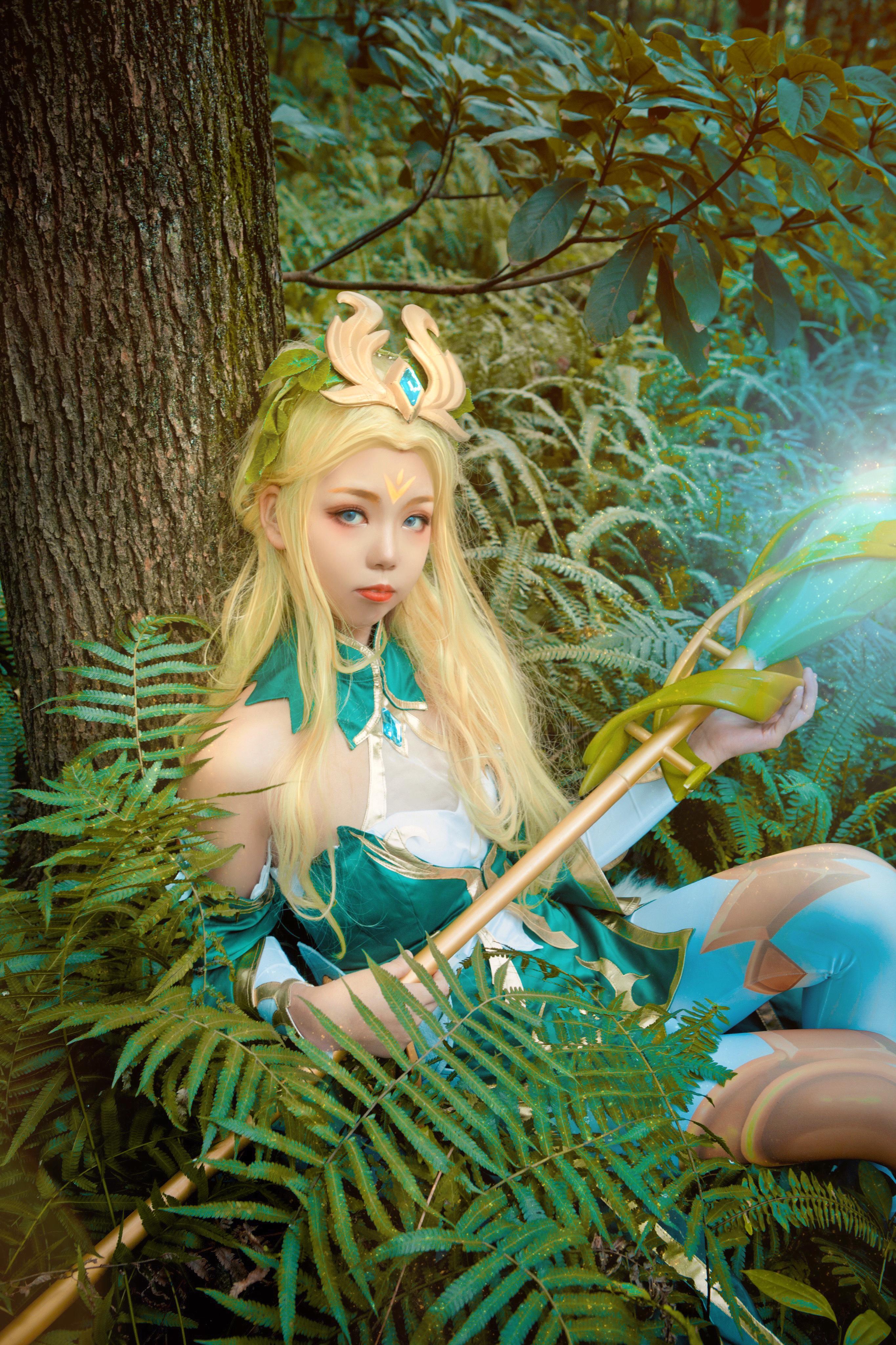 《王者荣耀》游戏cosplay【CN:_小葵_】-第8张