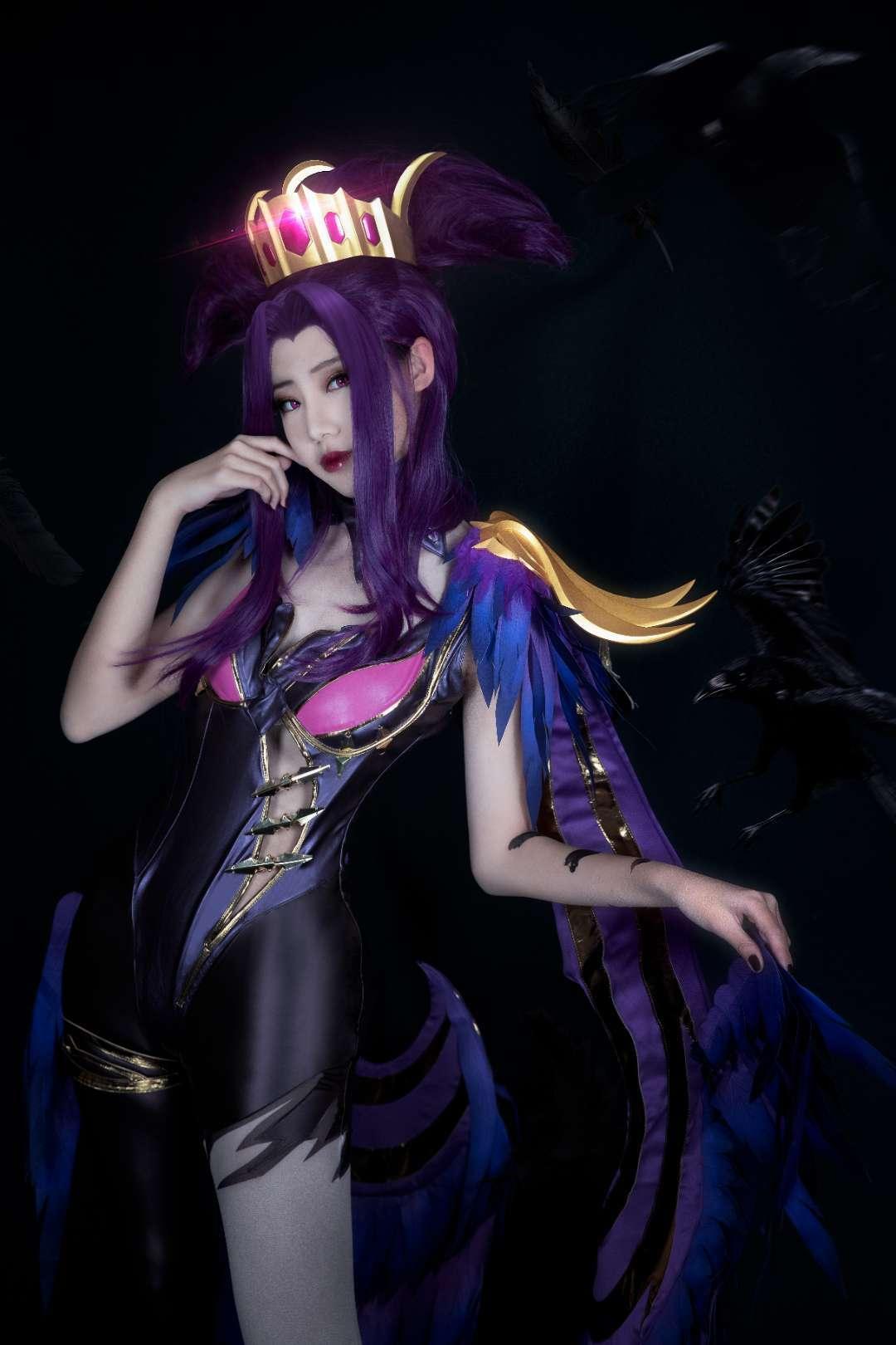 《王者荣耀》正片cosplay【CN:-cosplay面具图片GRIS剑-】 –插图