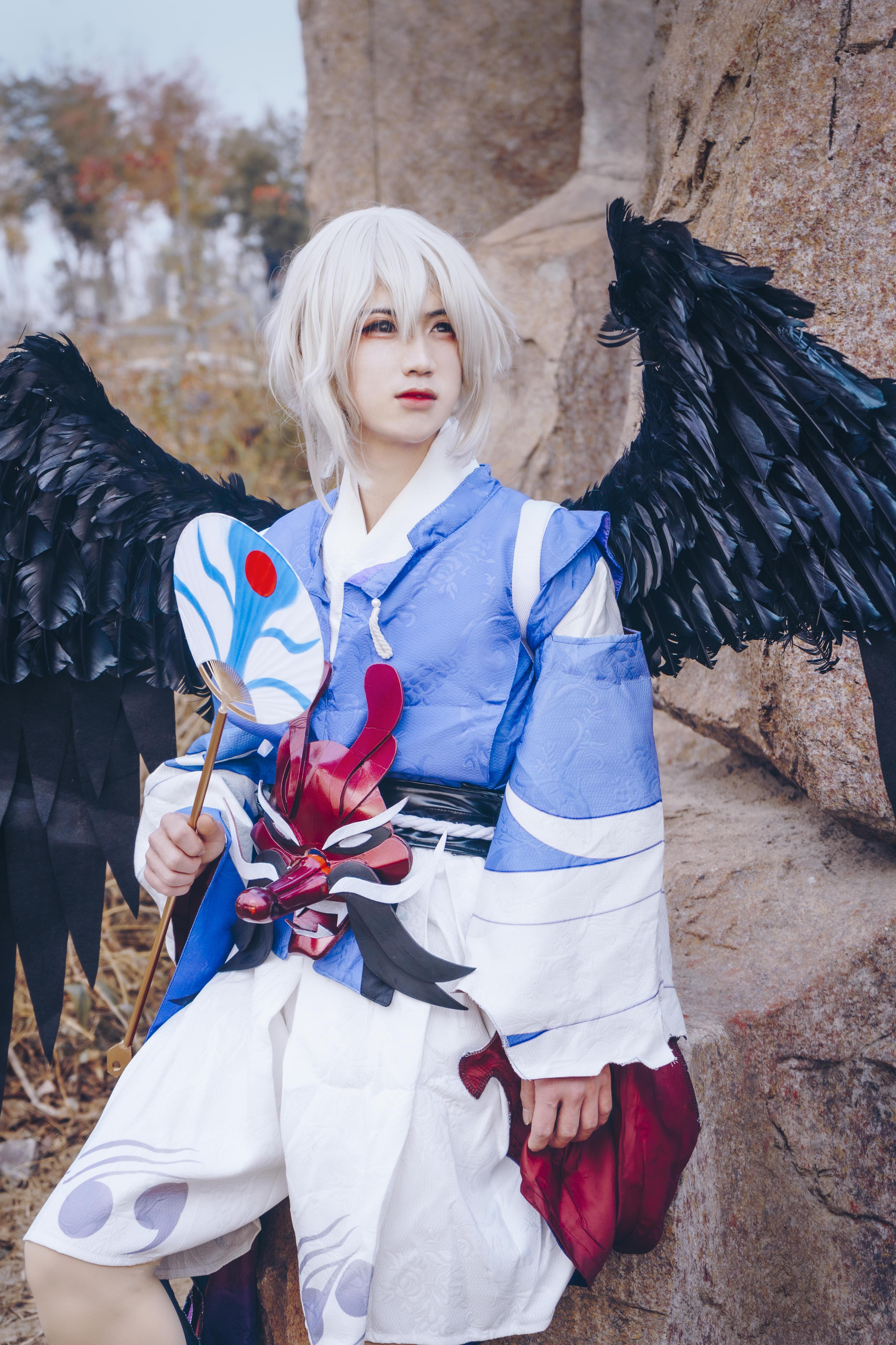 雪女cosplay【CN:不会迷路的雪】-第14张