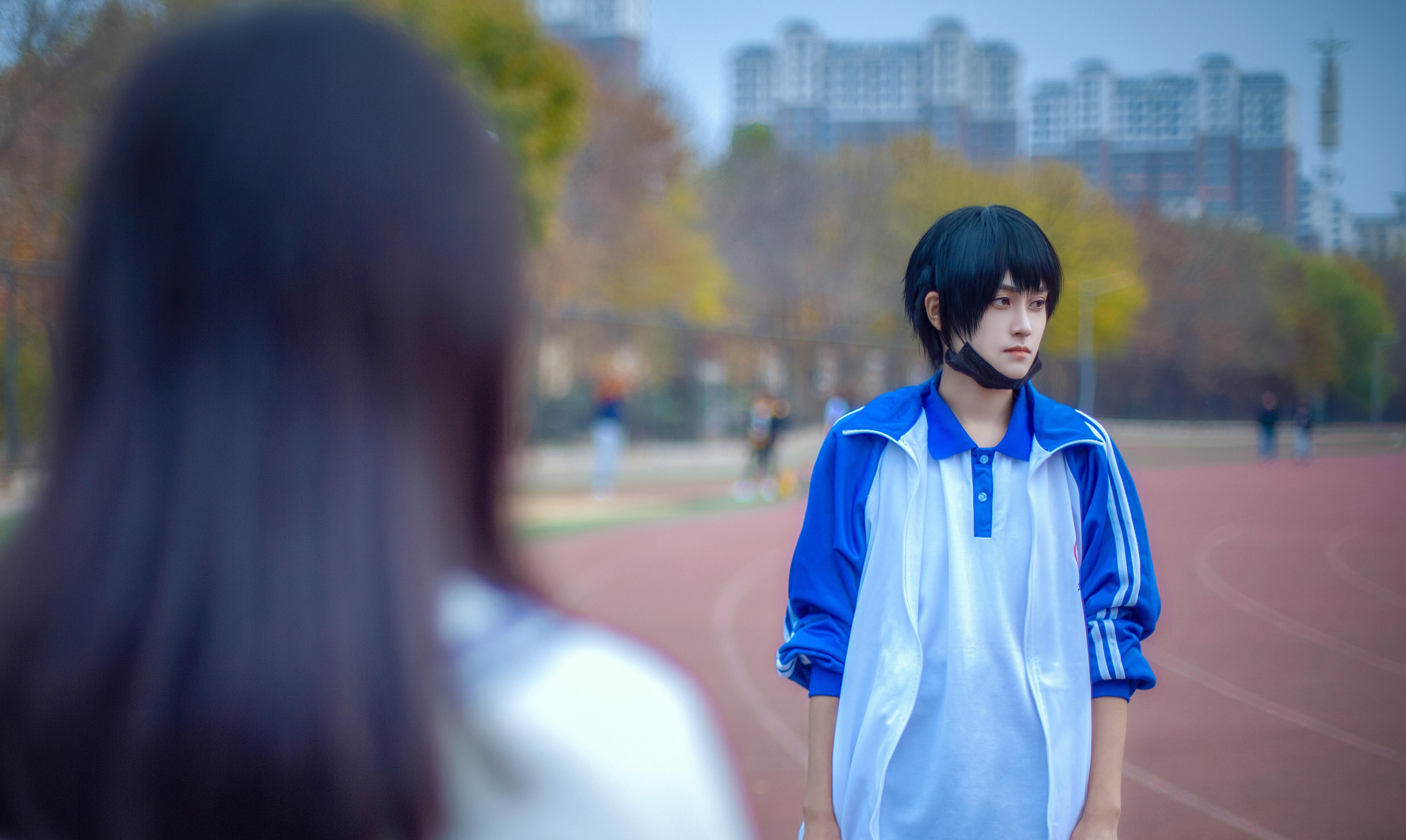 《伪装学渣》正片cosplay【CN:古童童童】-第24张