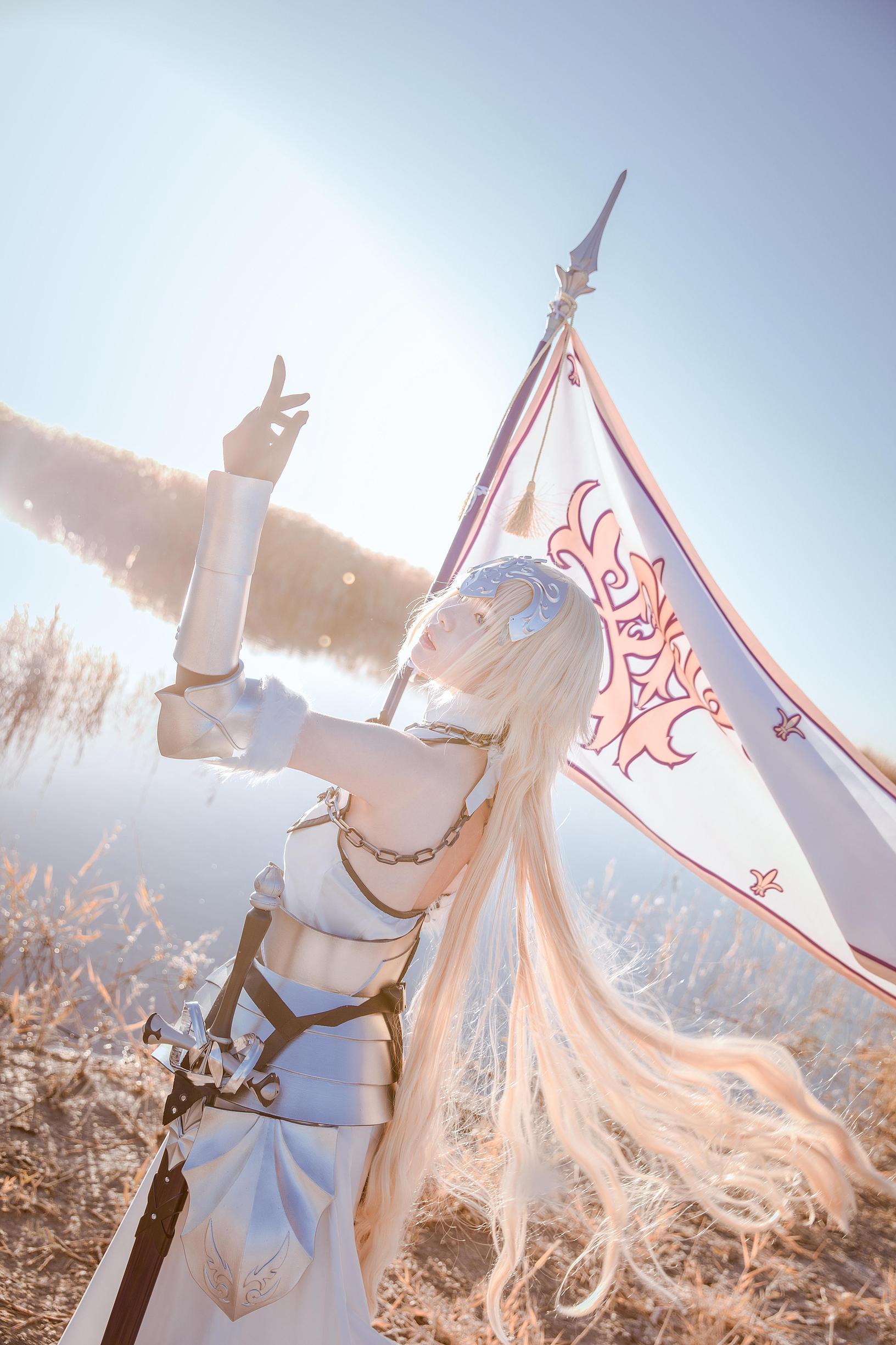 《FATE/GRAND ORDER》贞德cosplay【CN:茶茶子cya】-第1张
