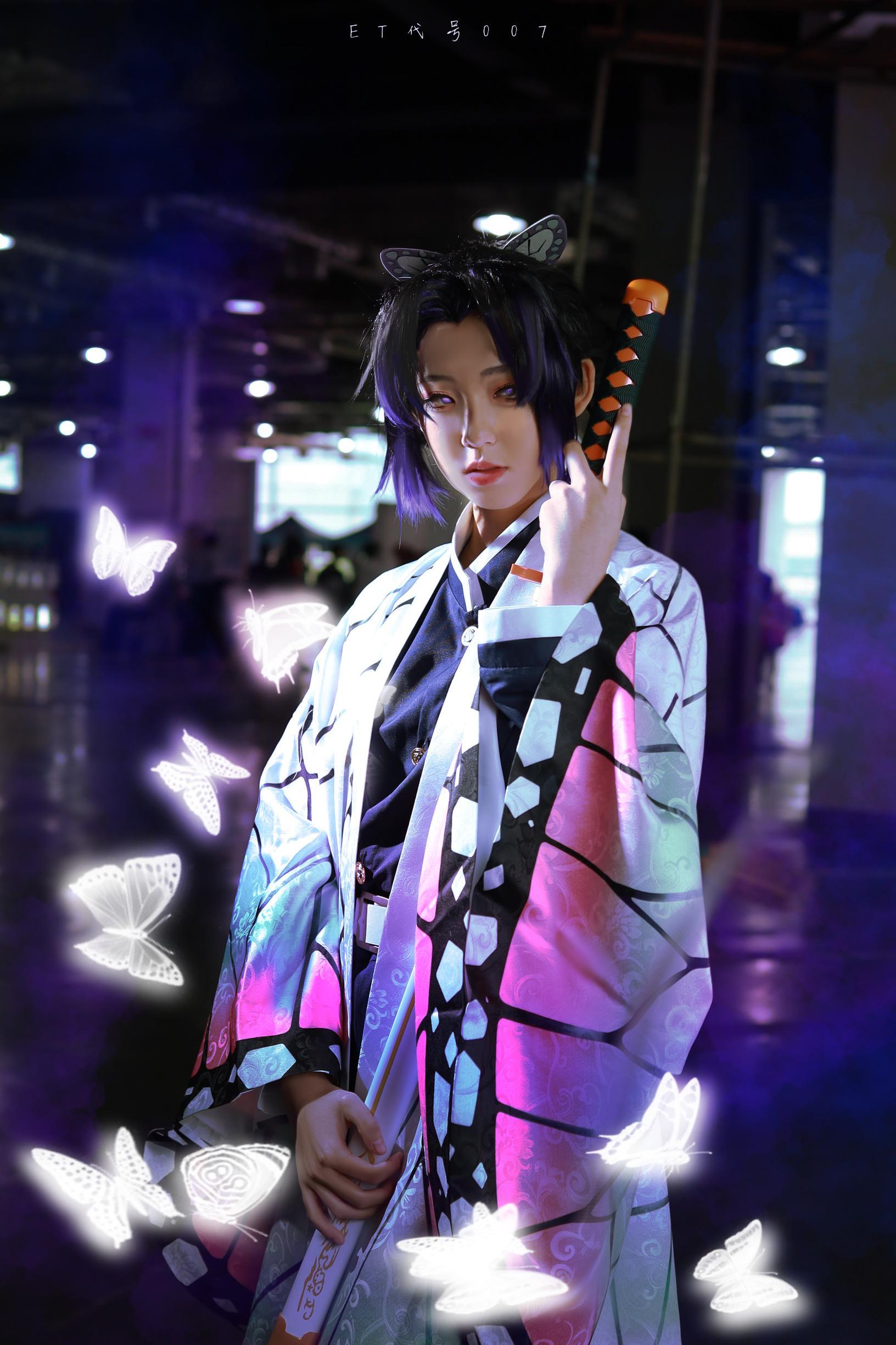 《鬼灭之刃》蝴蝶忍cosplay【CN:异次元的007】-第6张