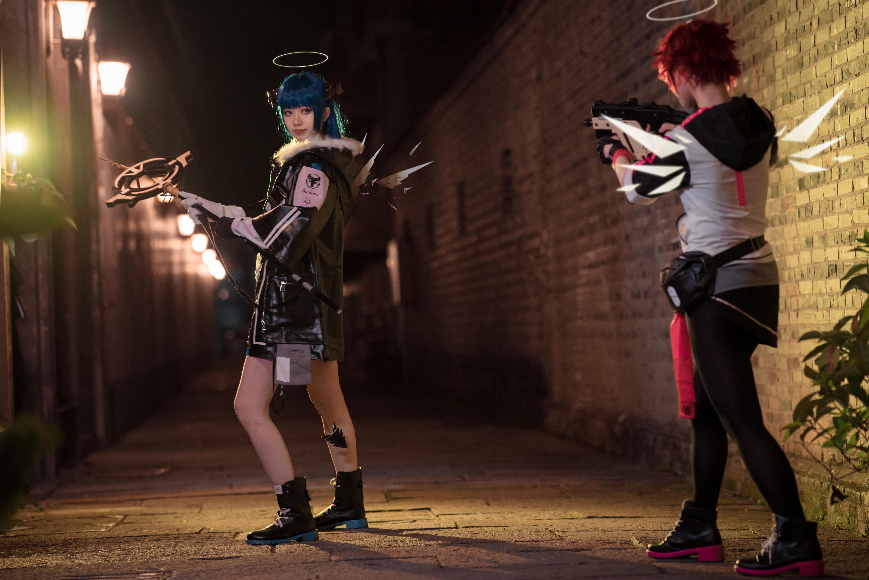 《明日方舟》法则cosplay【CN:KizunaFerin】-第41张