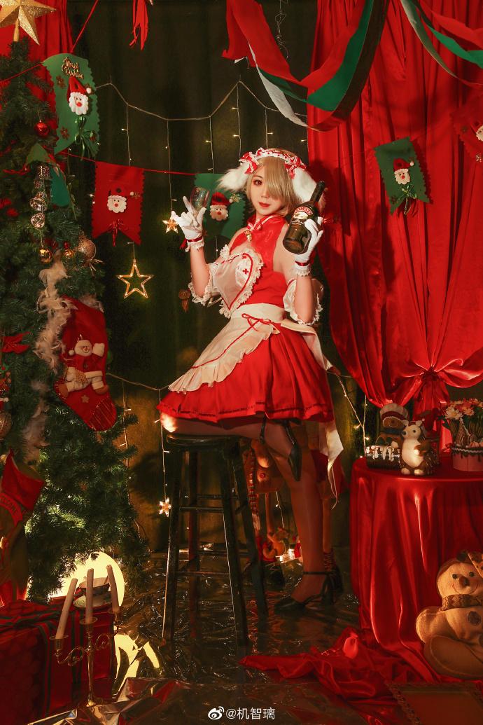 崩坏3   丽塔·洛丝薇瑟  圣诞女仆   @机智璃 (9P)-第7张