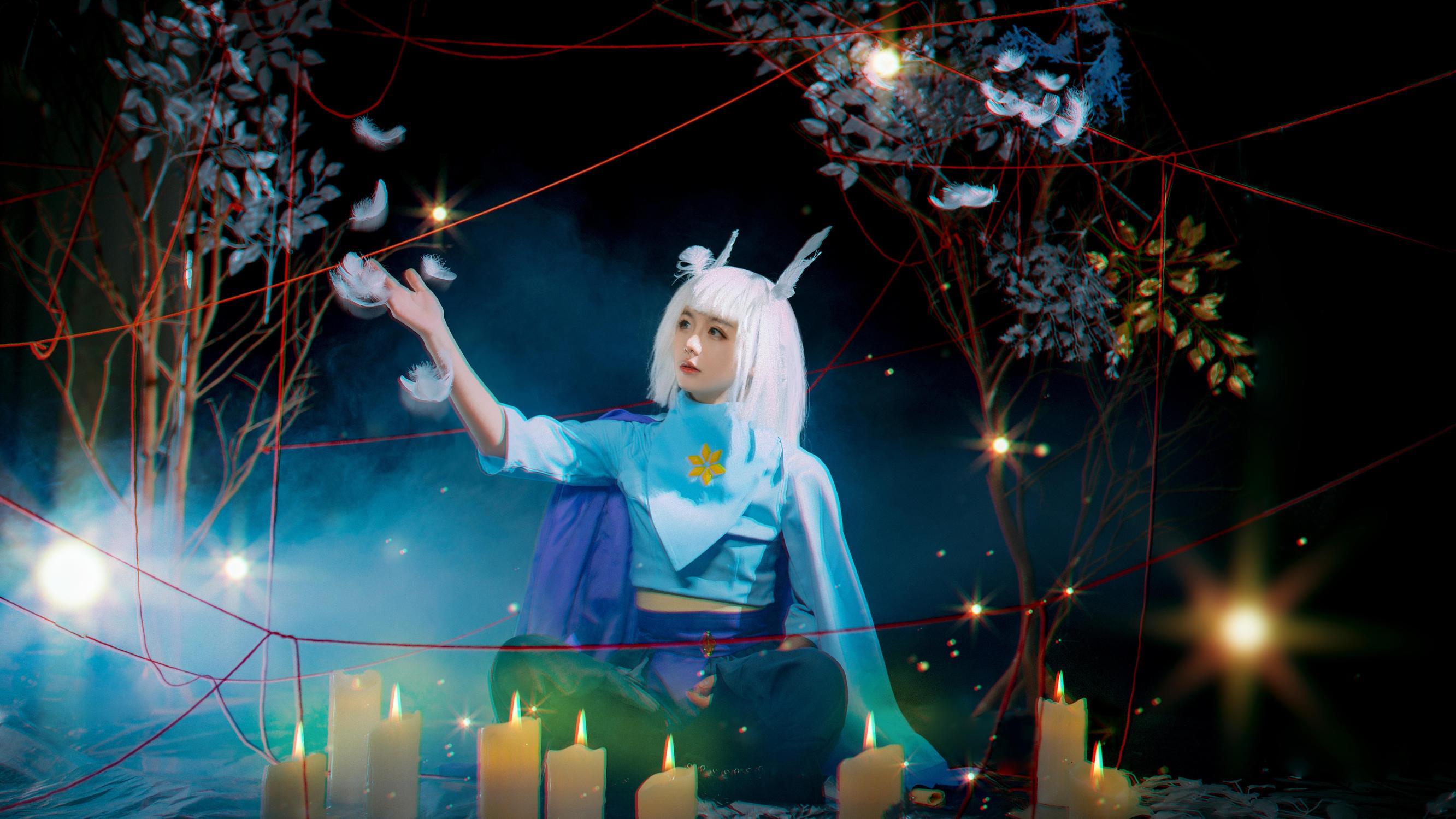 《SKY光遇》正片cosplay【CN:妖染爱吃糖葫芦】-第8张