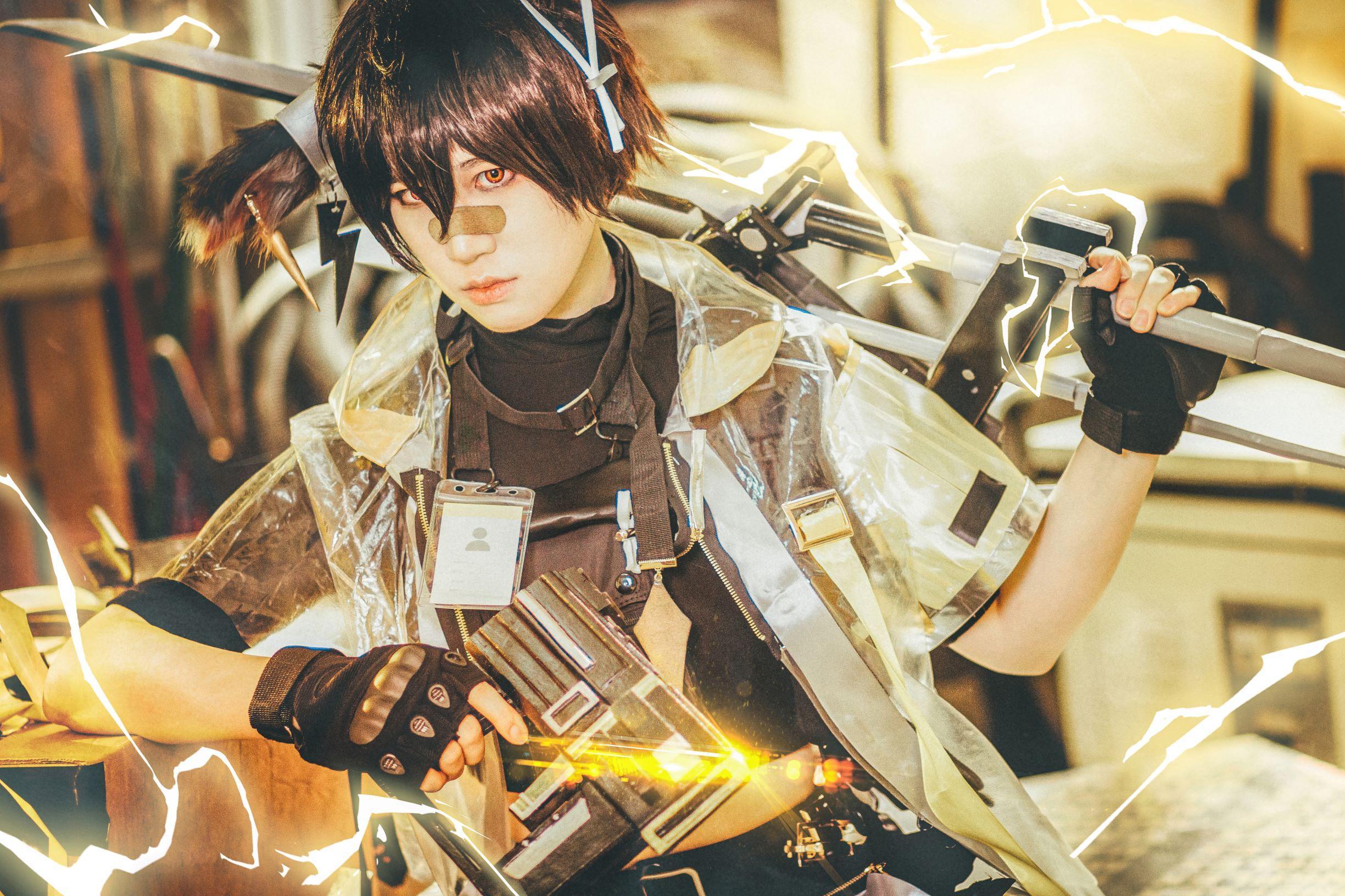 《明日方舟》莱莱cosplay【CN:ystem_Yin】-第2张
