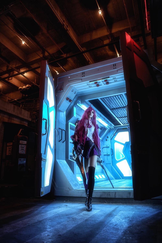 《英雄联盟》卡特琳娜cosplay【CN:REA_】-第1张