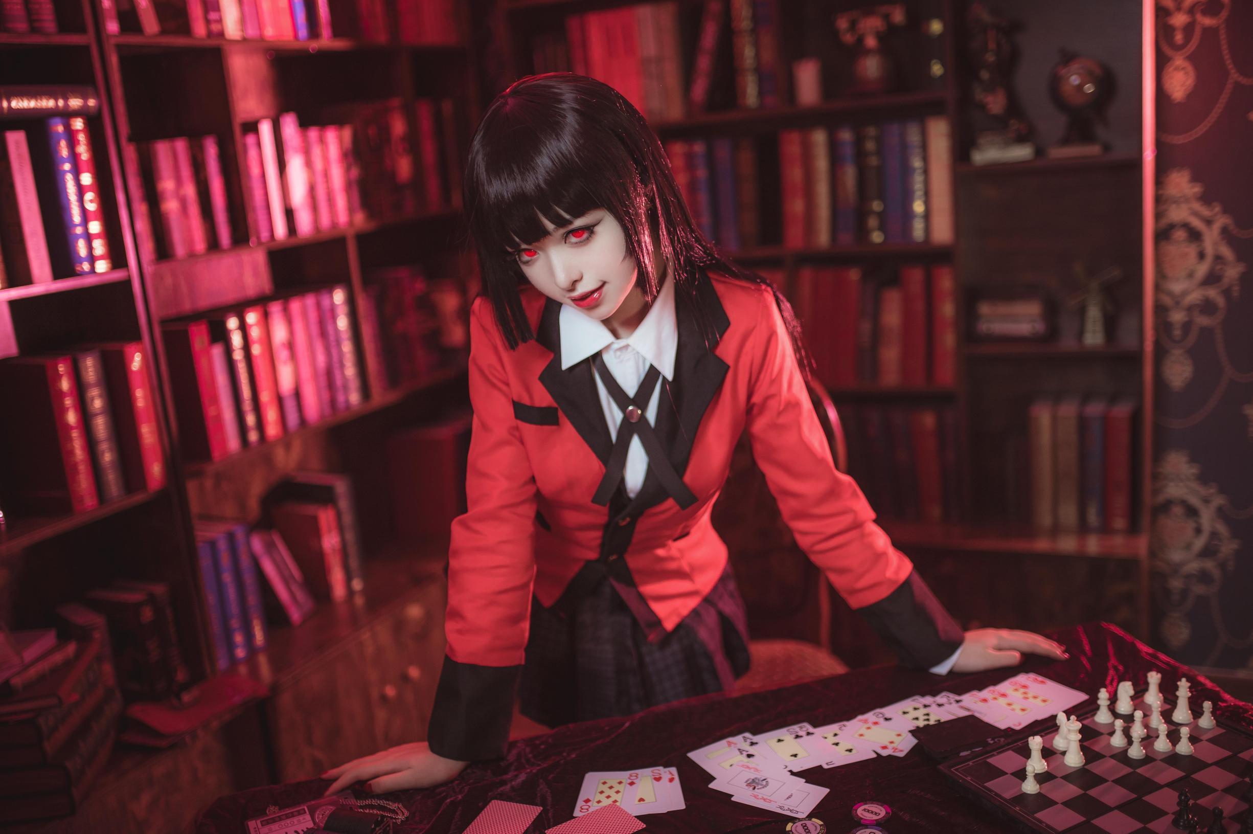 《狂赌之渊》正片cosplay【CN:鸢鬼】 -妖精的尾巴美女cosplay图片插图