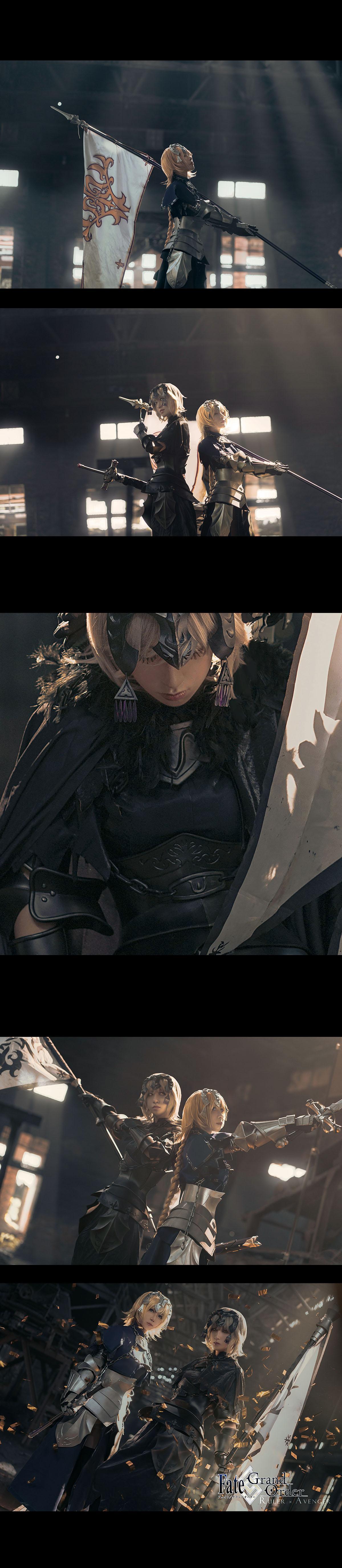 《FATE/GRAND ORDER》贞德cosplay【CN:千里看着你的脑洞说】-第12张
