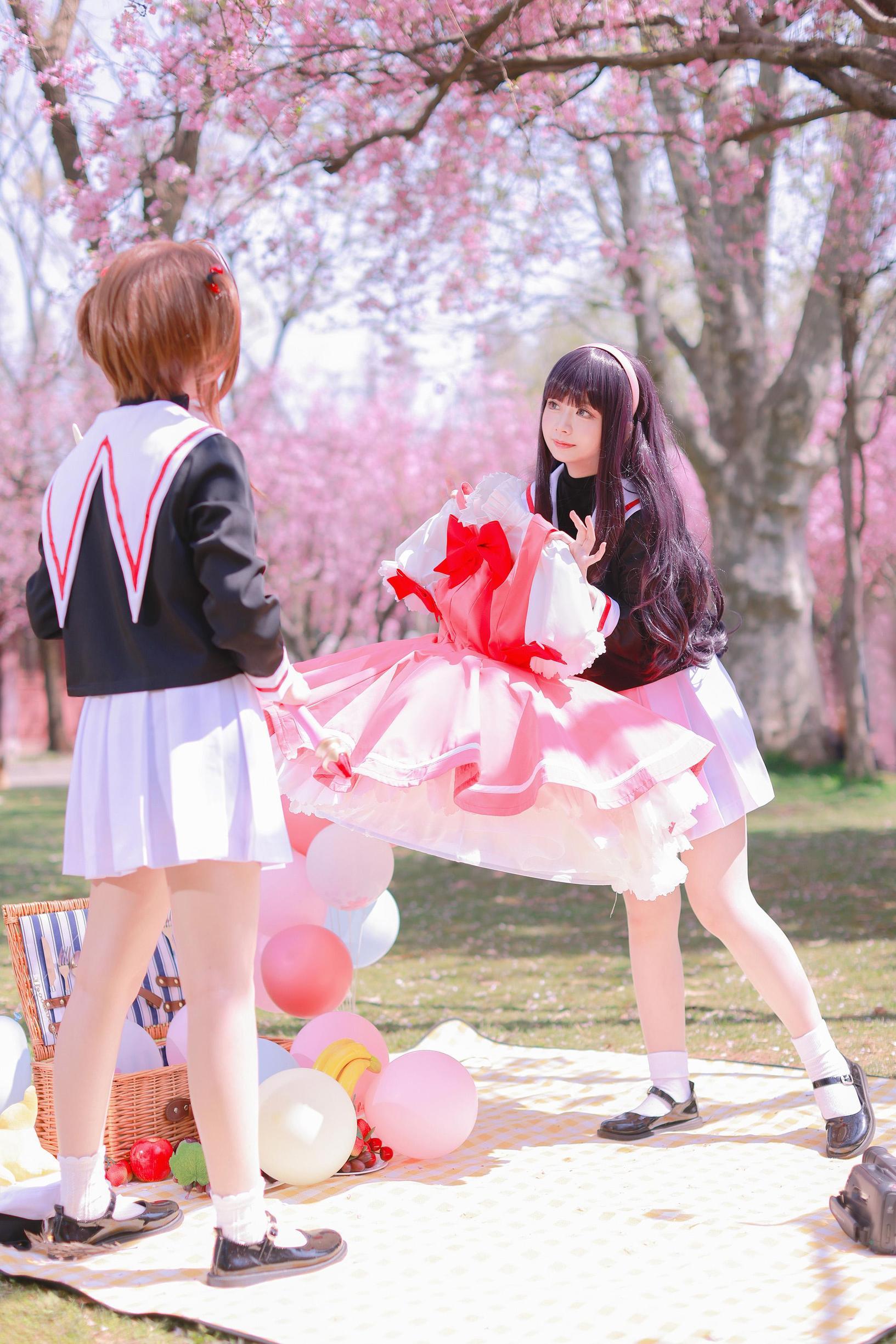 《魔卡少女樱》百变小樱cosplay【CN:萌玘】-第14张