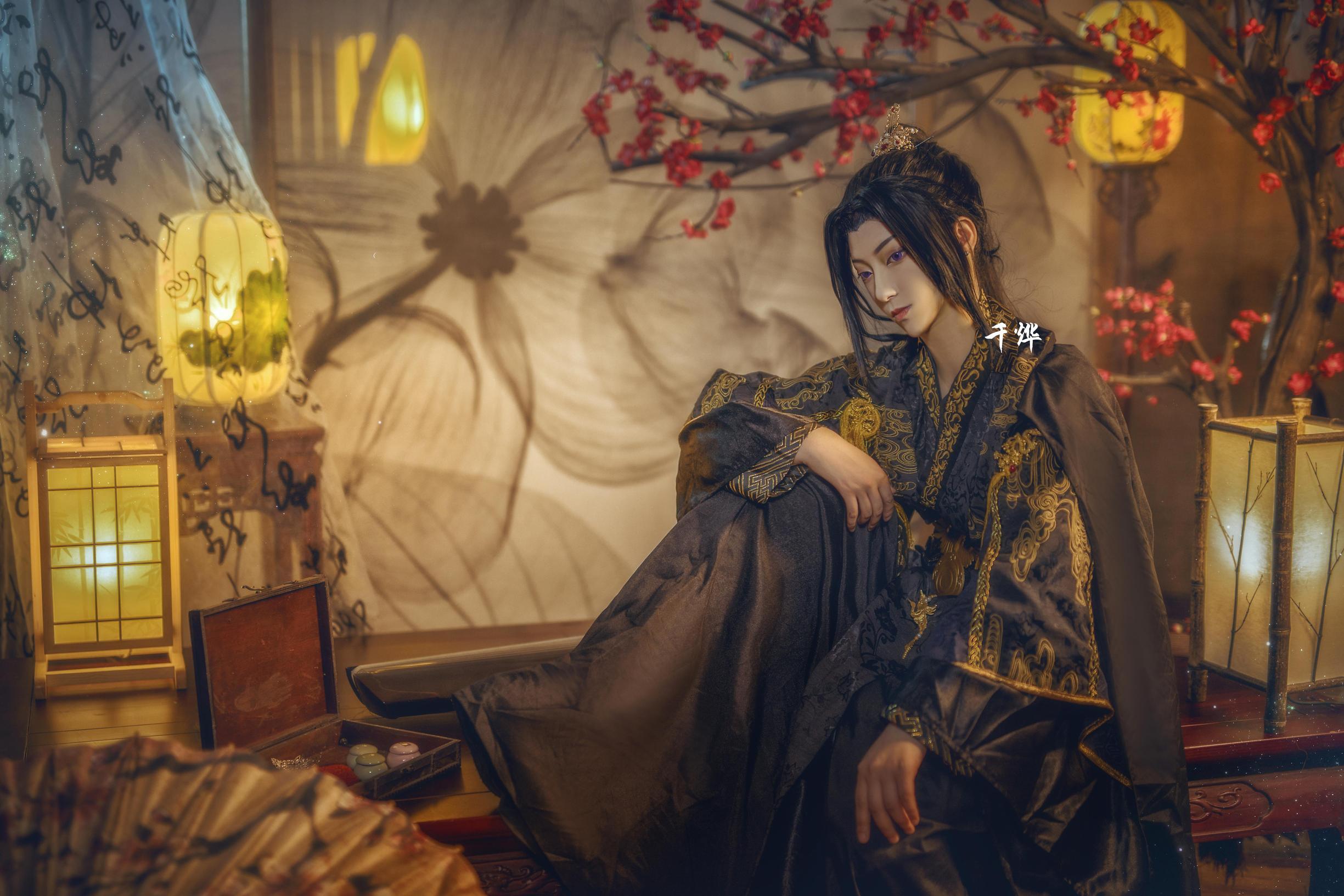 《二哈和他的白猫师尊》正片cosplay【CN:南渌Lin】-第9张